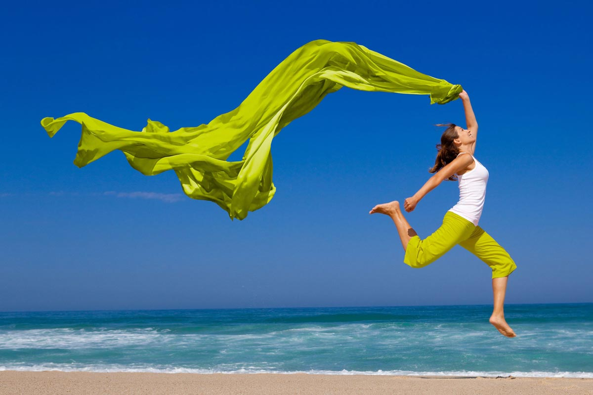 28 Day Jumping Woman