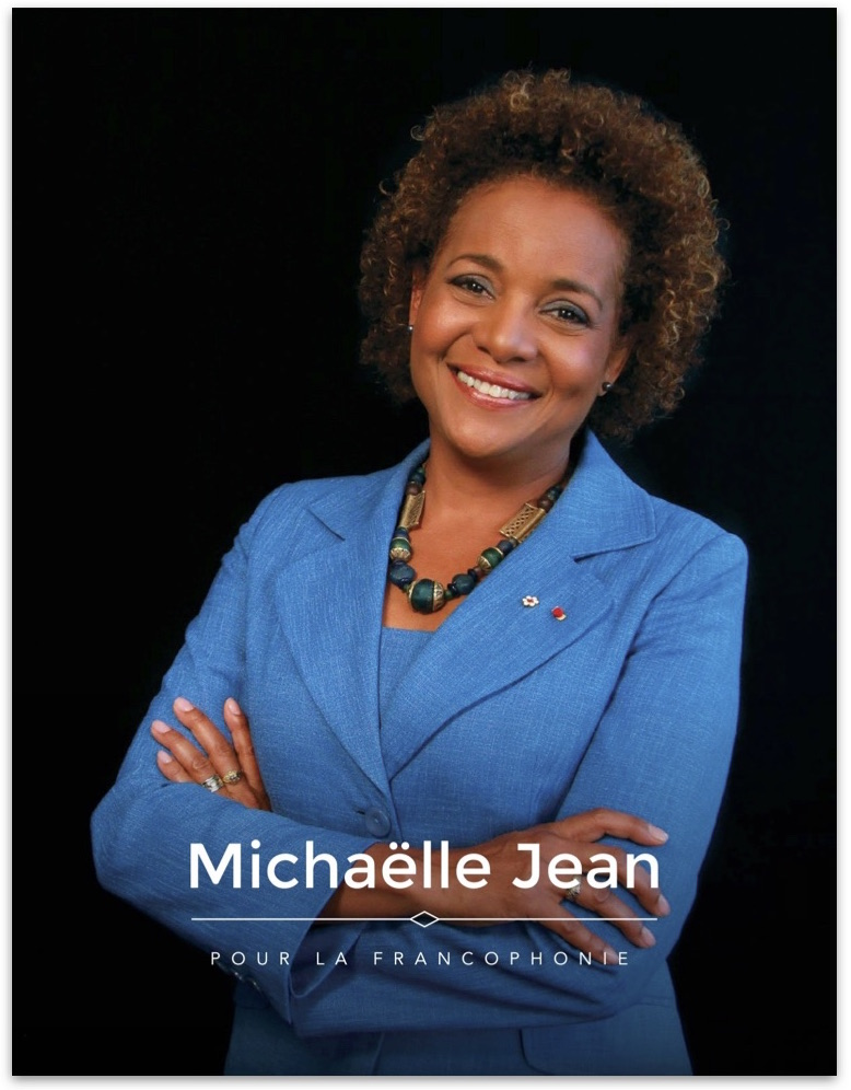 Download Michaëlle Jean's platform for La Francophonie, 2014, French  (PDF, 3 Mo ).