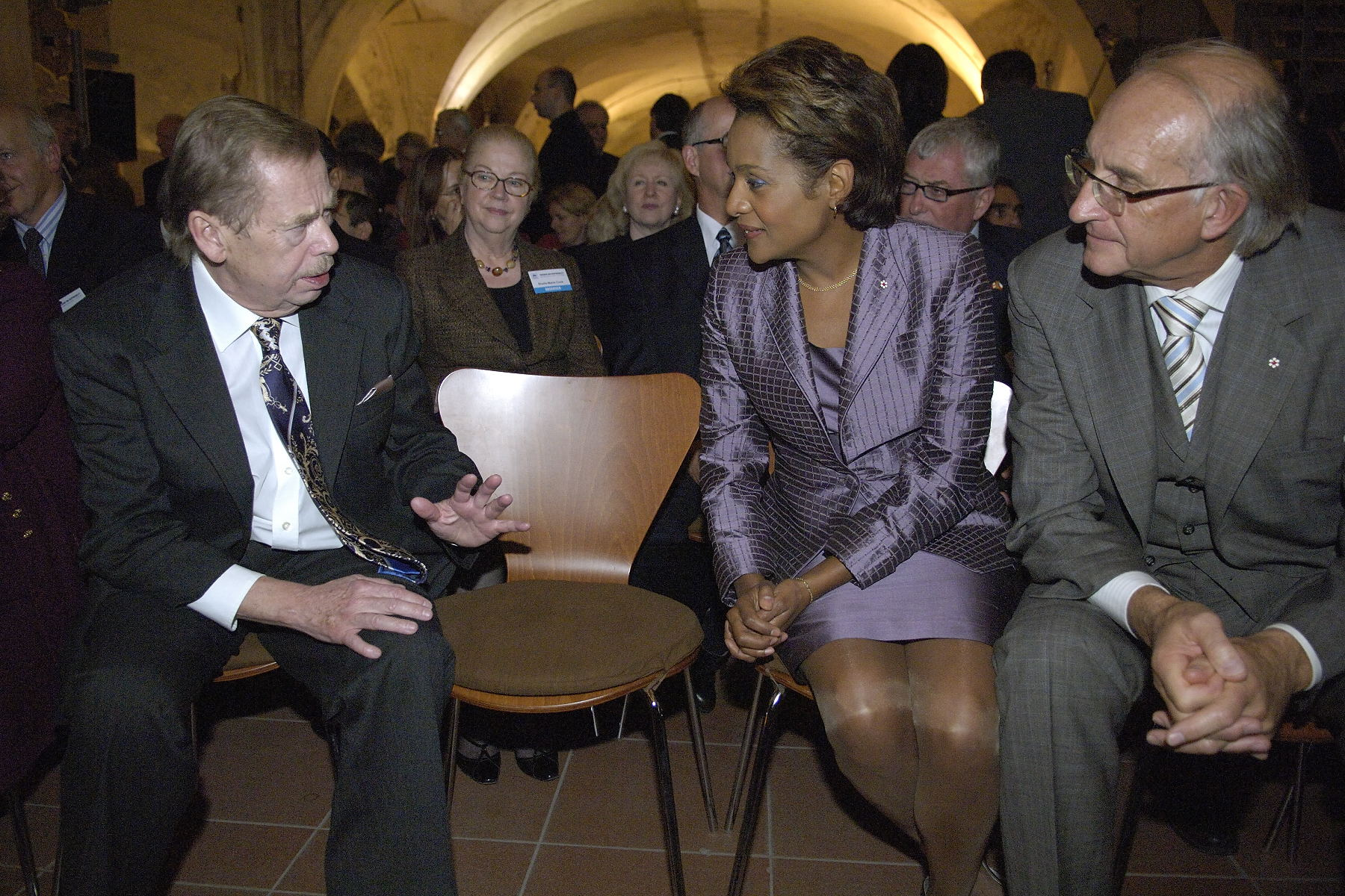 Prague, Václav Havel, ancien président de la Tchécoslovaquie et de la République tchèque, Octobre 2007.jpg