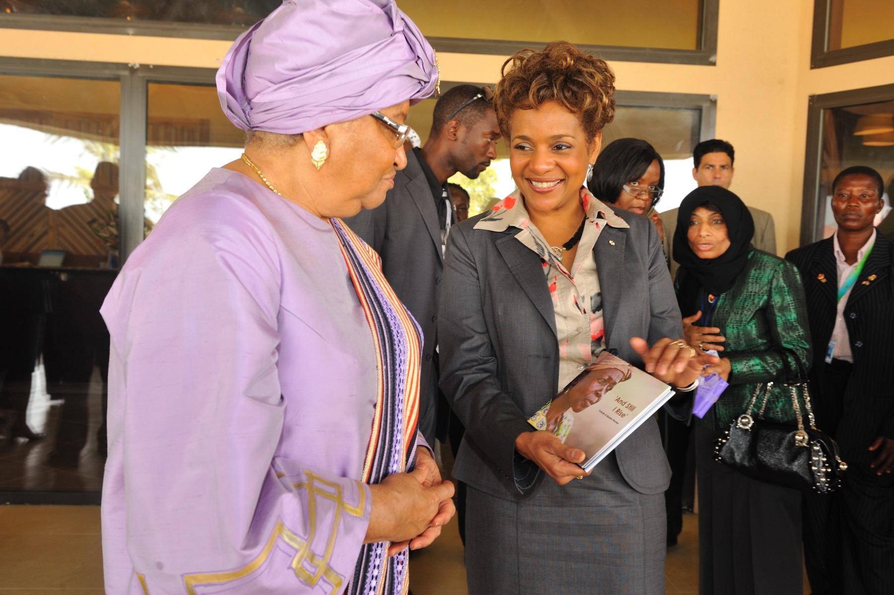 Présidente du Libéria Johnson Sirleaf mars 2009_4.jpg