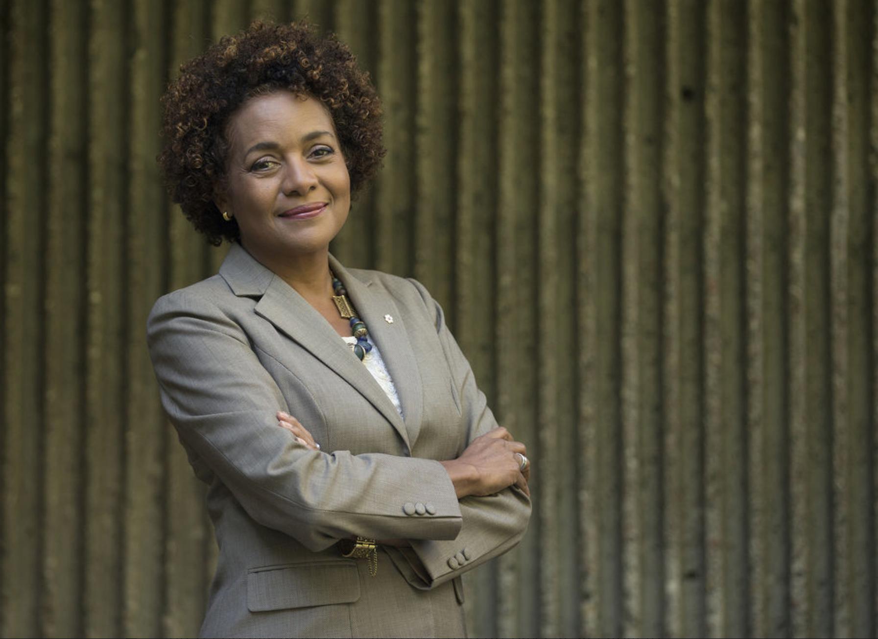 Michaëlle Jean ajoute sa voix à la cause franco-ontarienne.  — ARCHIVES, LA PRESSE