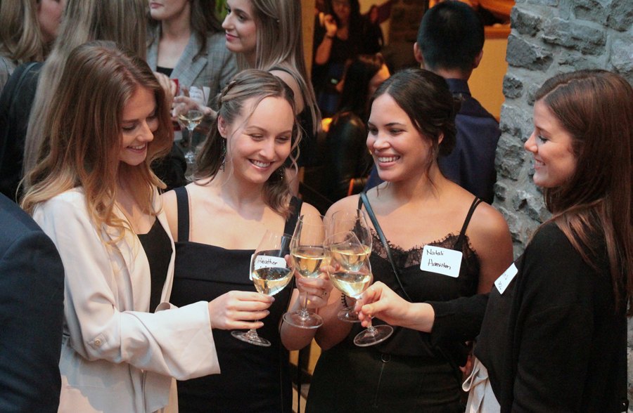 The 22nd Annual ELLE Gala drew more than 200 attendees to the event, held at Sidedoor Contemporary Kitchen & Bar in the ByWard Market on Monday, Sept. 30, 2019. Photo by Caroline Phillips