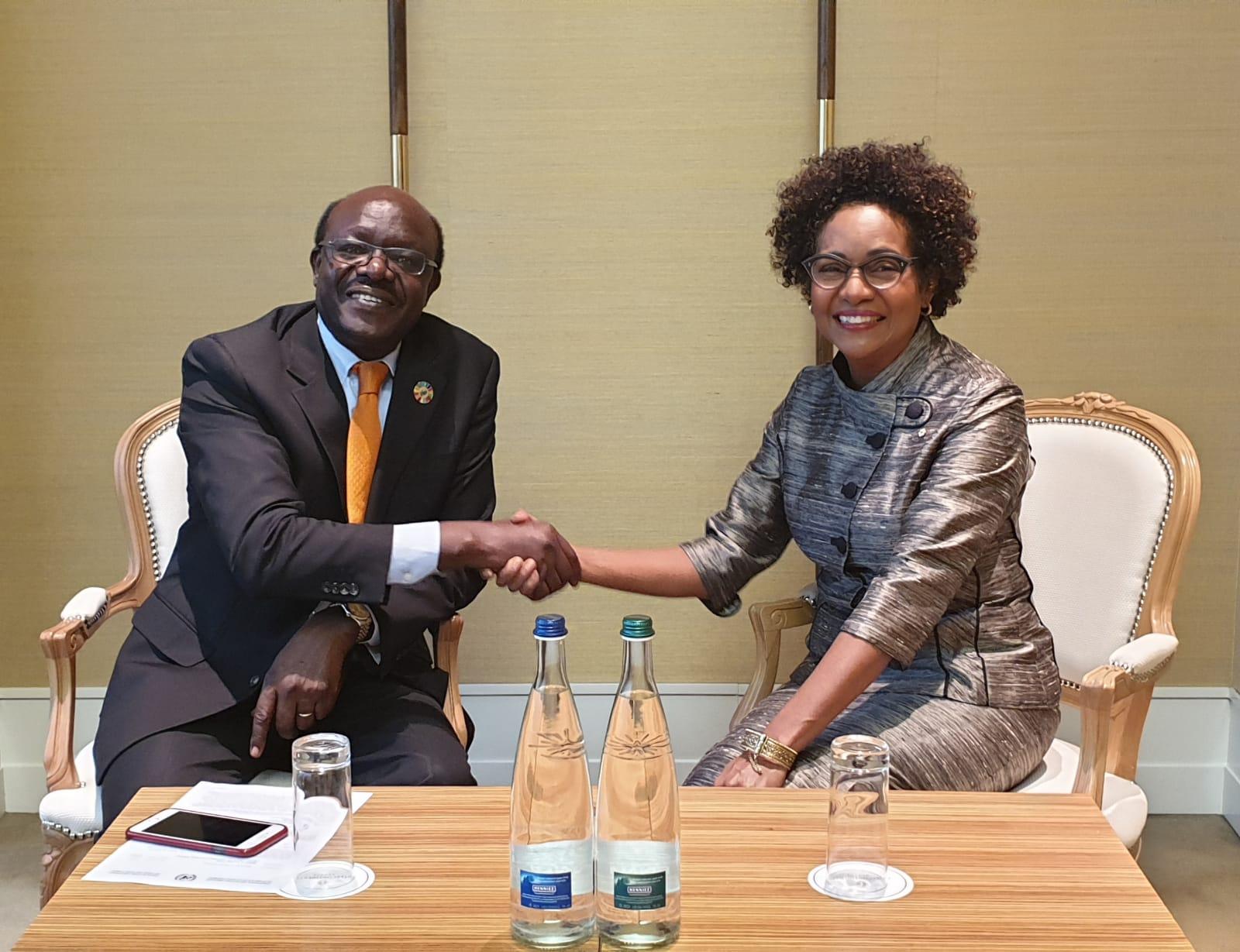 Accueil chaleureux du Secrétaire Général de la CNUCED, Son Excellence Monsieur Mukhisa Kituyi.
