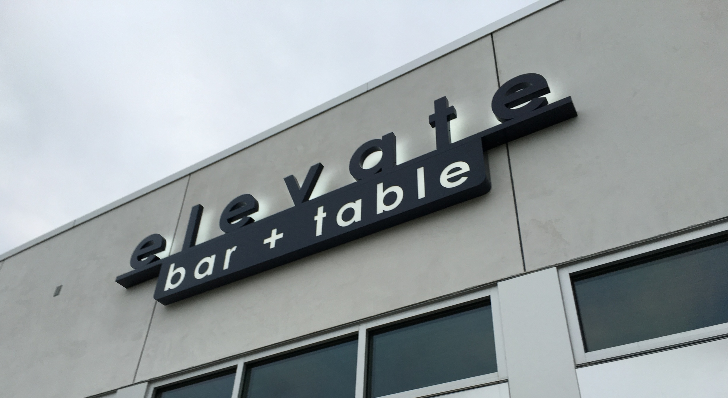Signage design by Colorspace, with fabrication and install by Sign Crafters.