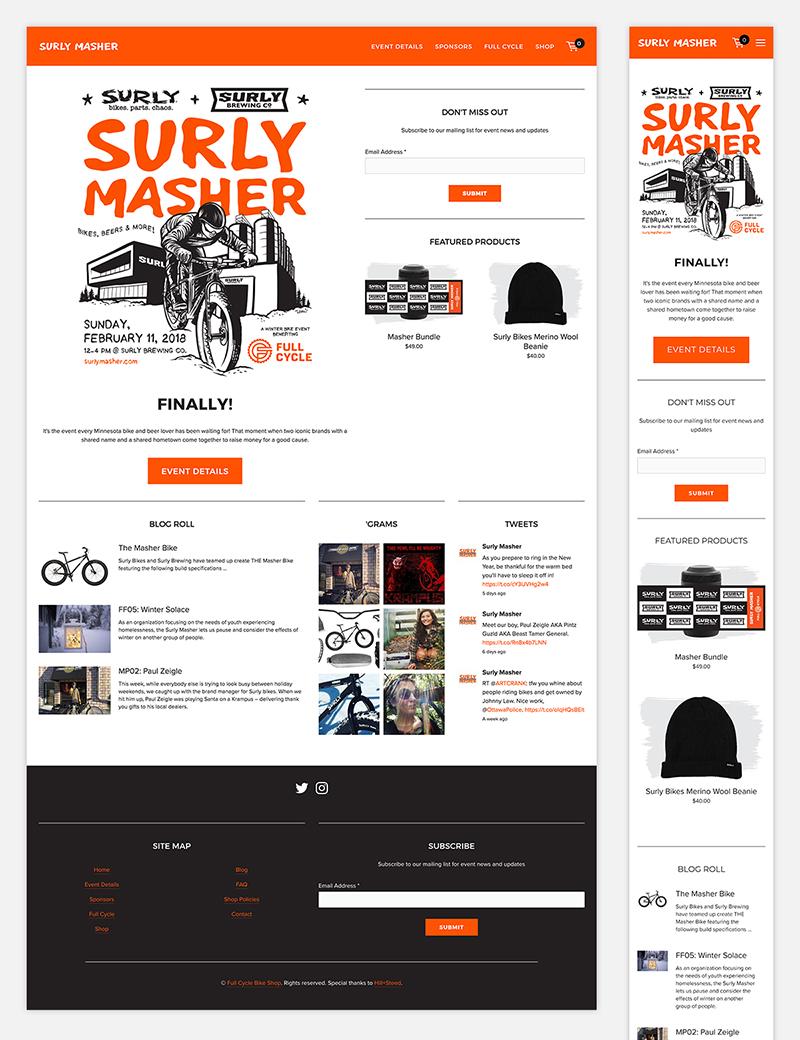 E-commerce Website + SEO