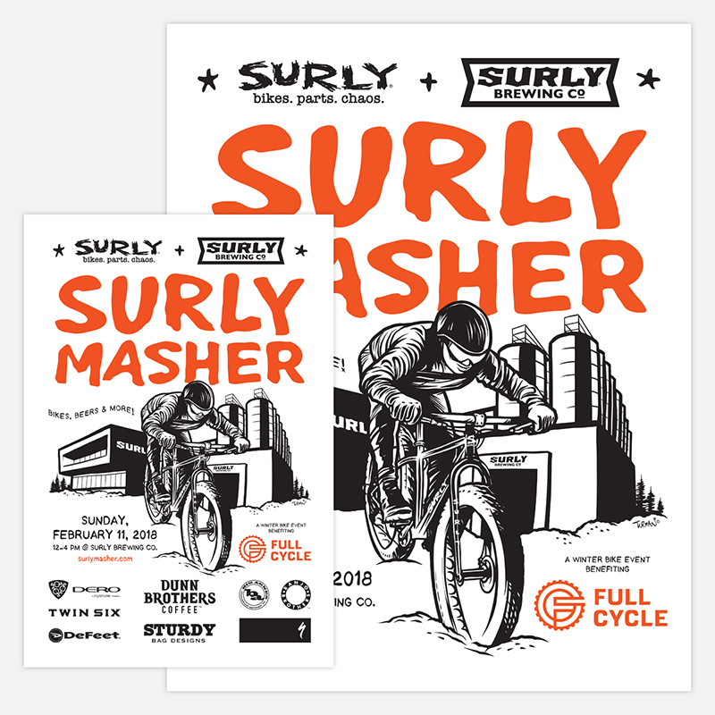 Surly Masher - Direction +Design + Management