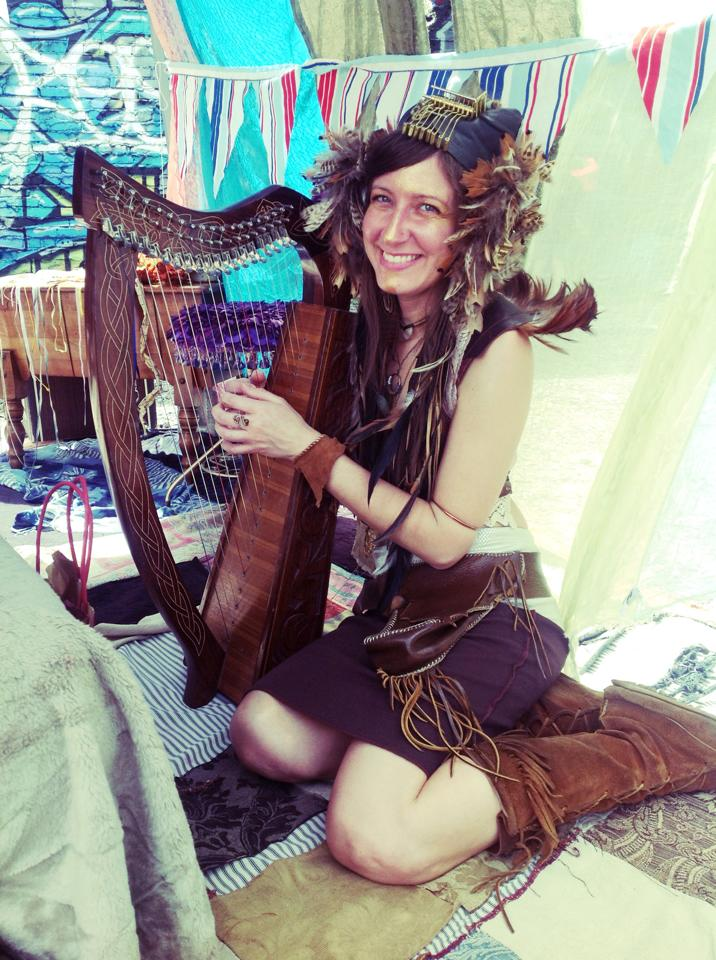 hi world! meet Patti of Feather'Root Artistry