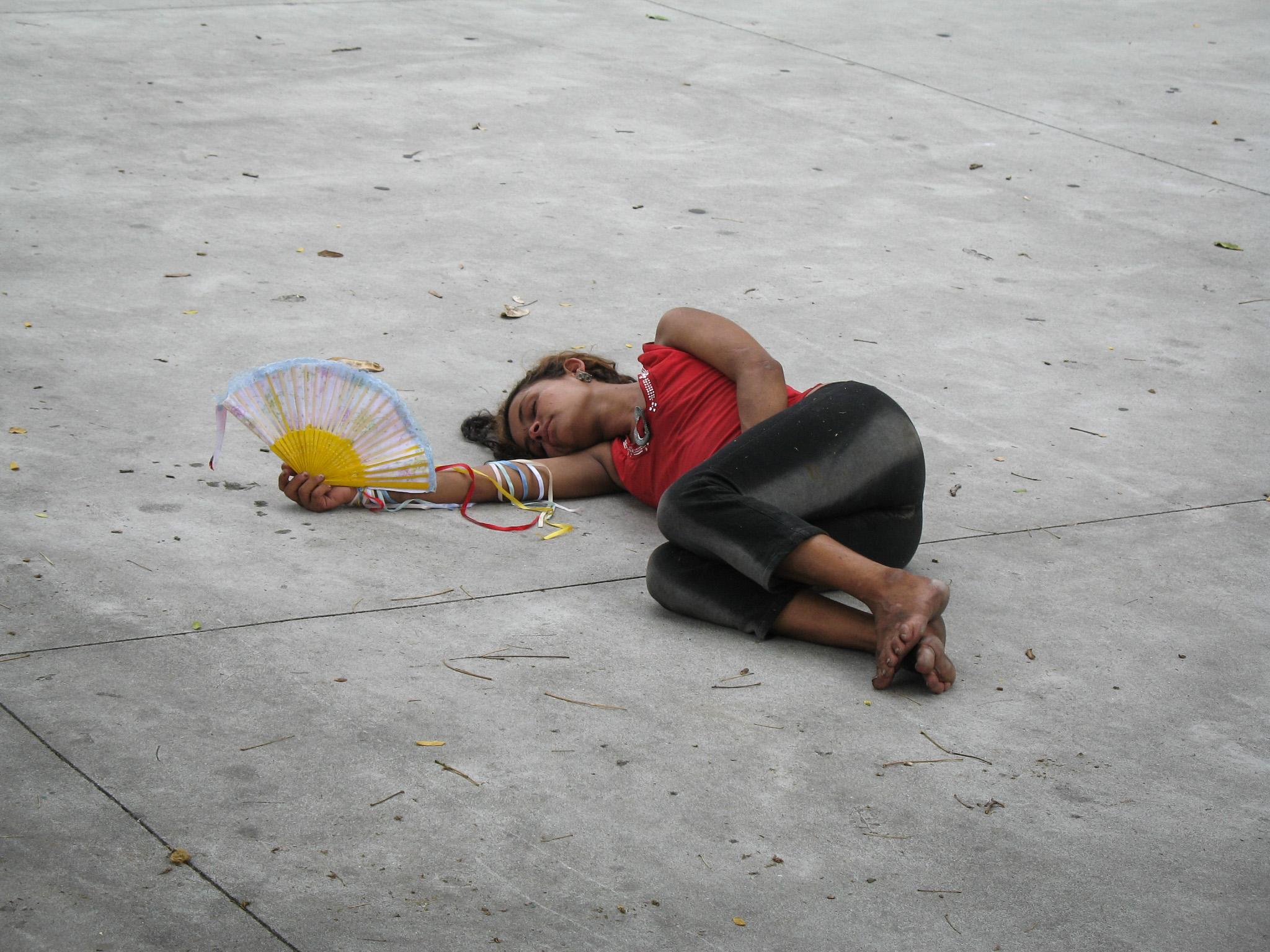 Девушка в Рио