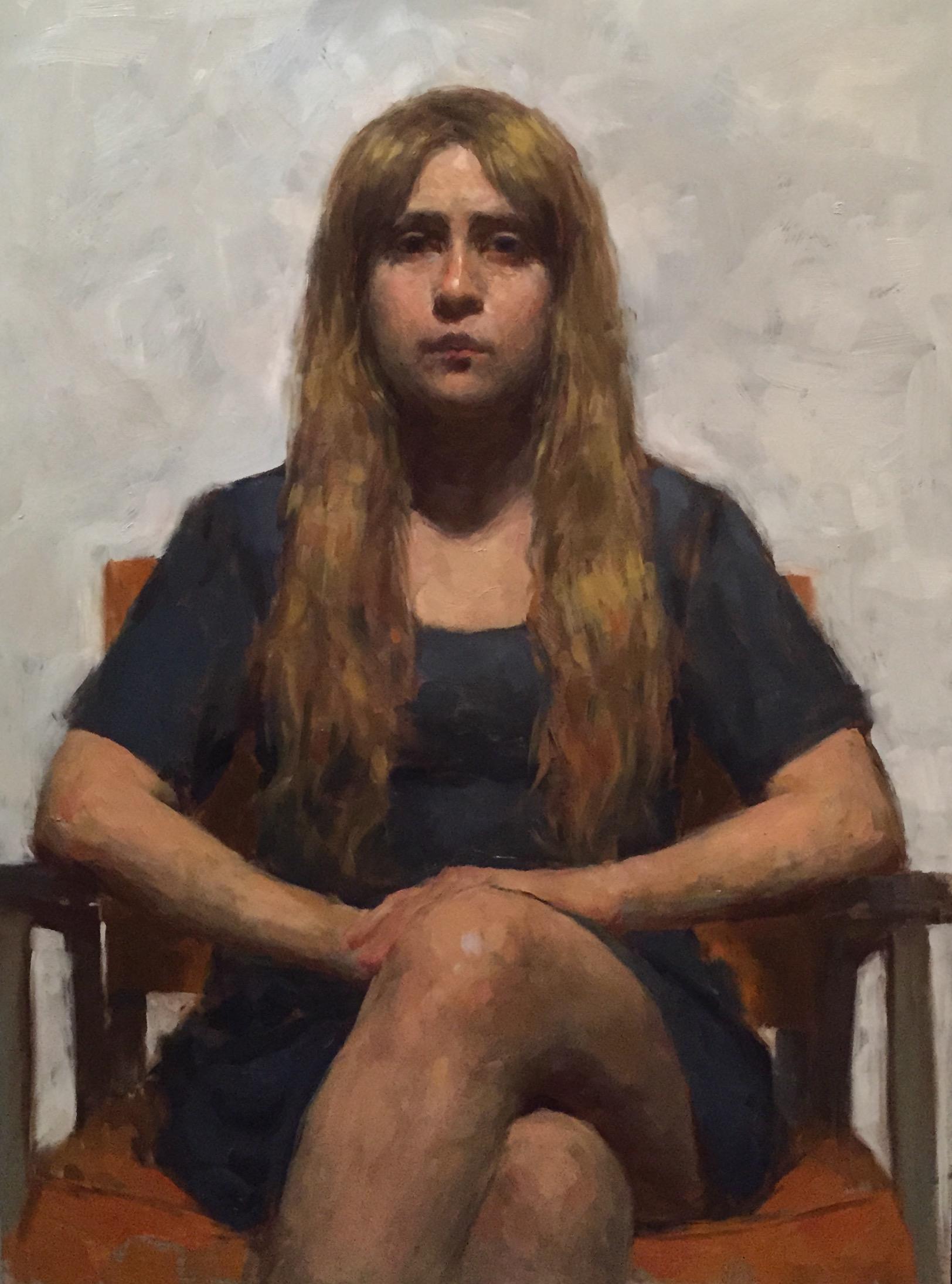 Magica   Mariana, oil on panel