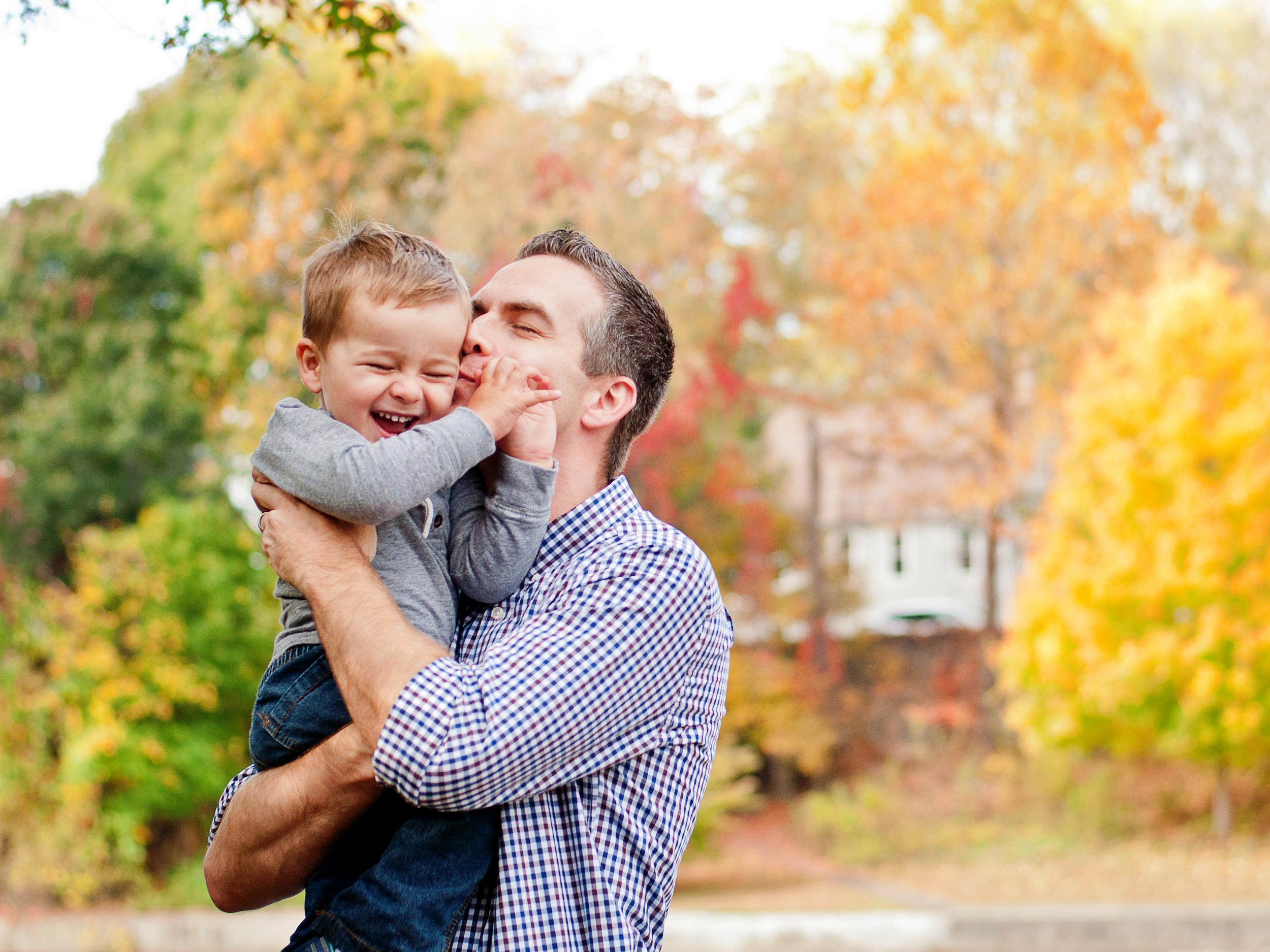 Matthew and his son Nathan