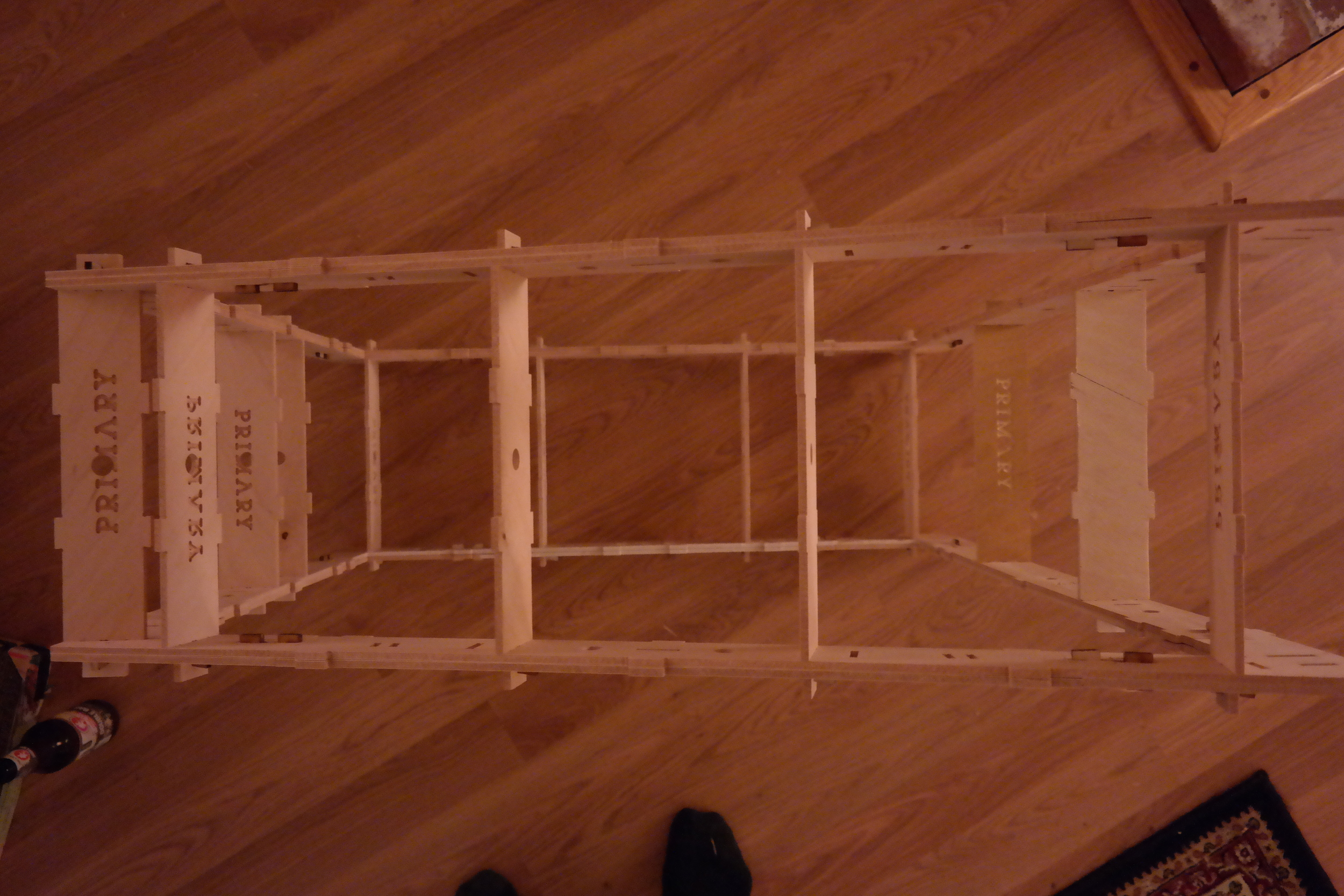 1st of 3 modules assembled