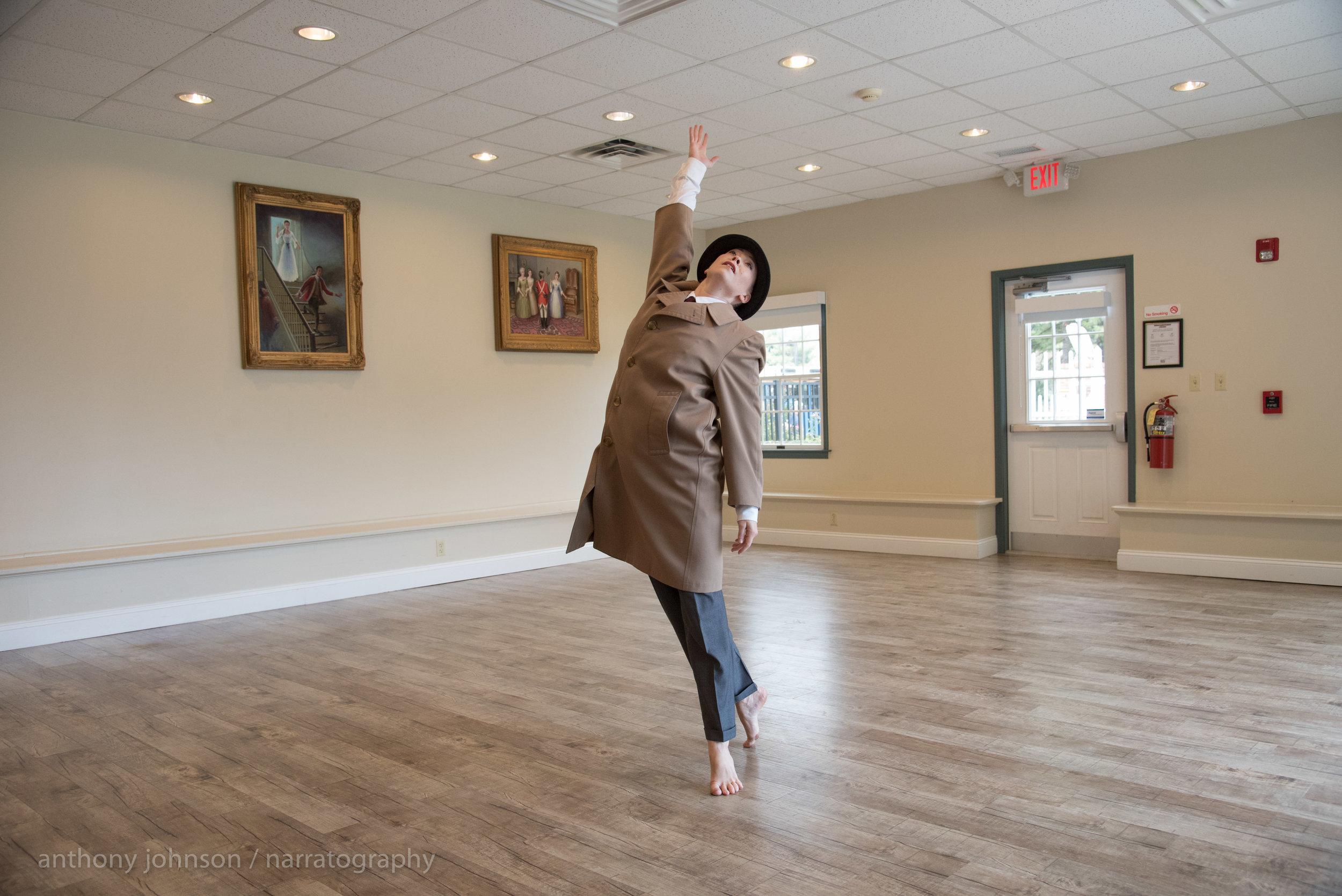 Carolyn Dorfman Dance.Anthony Johnson - Narratography