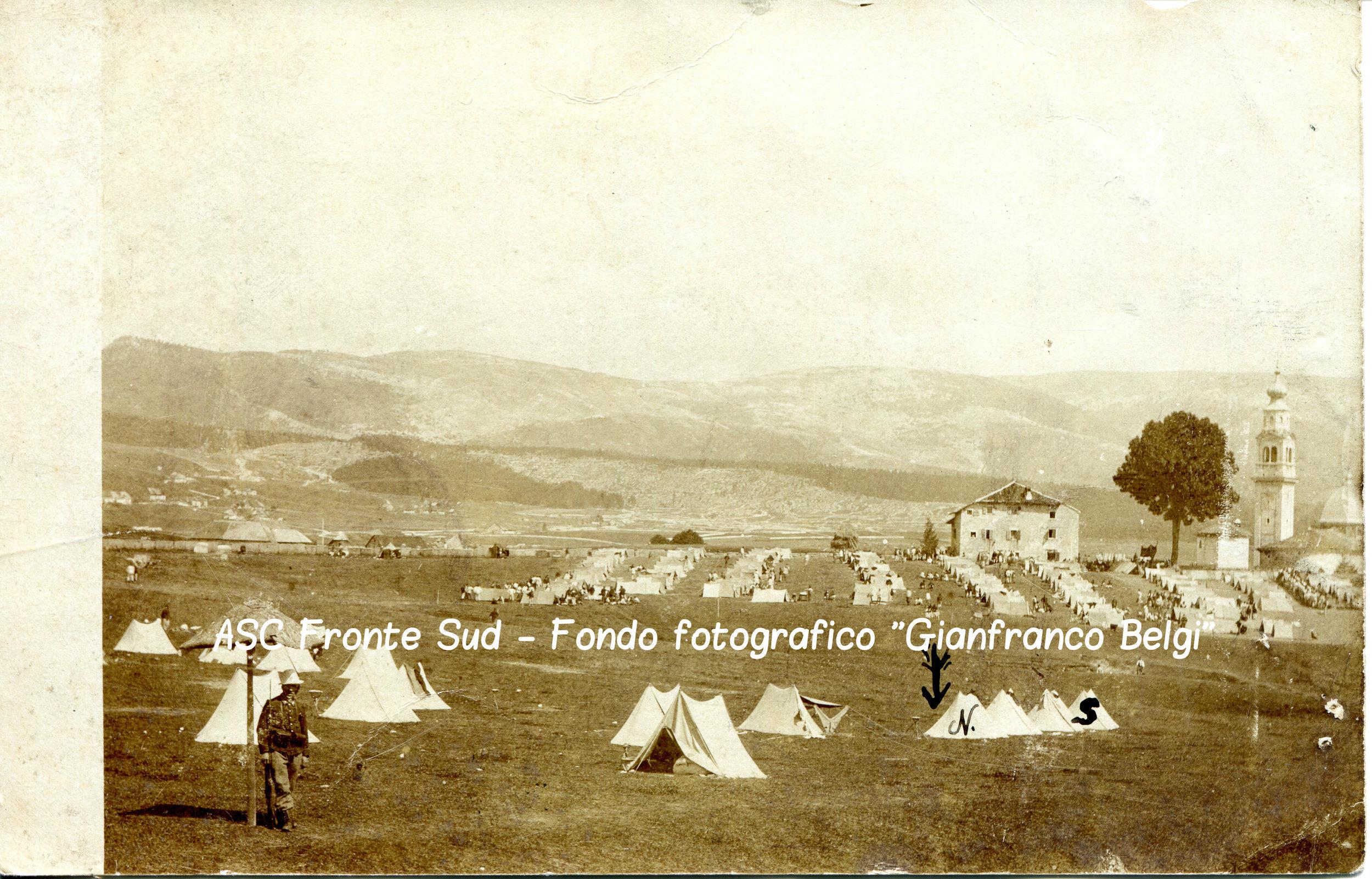 Esercitazioni militari italiane sull'Altopiano di Asiago poco prima dello scoppio della guerra