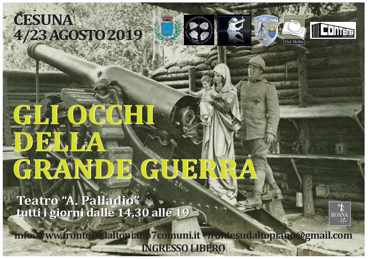 Progetto grafico S. Aluisini - G. Valente (Cesuna)