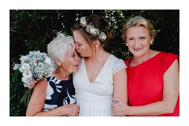 Big kiss for Grandma. We just love the way wedding days show families are their loving best #generation #brides #weddingfamilyphoto #motherspride . . . . . . . . . . #adventureweddingphotographer #destinationwedding #authentic #organicwedding #storyteller #unposed #documentarywedding #candidwedding #love #naturalwedding #greenwedding #fujiweddingphotographer #fujifilm_uk #lifesmomentscaptured #tellingstories #storiesthroughalens #chesterwedding #chesterweddingPhotographer #cheshirewedding