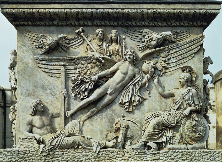Column of Antoninus Pius, 161 CE.