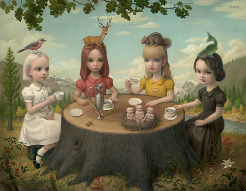 Mark Ryden,  Allegory of the Four Elements .