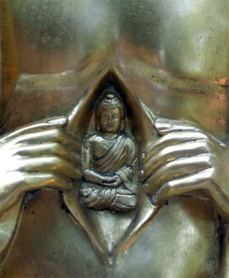 The golden embryo asBuddha Nature ( Tathāgatagarbha ).