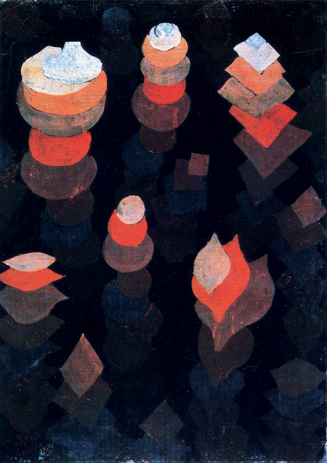 Paul Klee,  The Growth of the Night Plants , 1922.