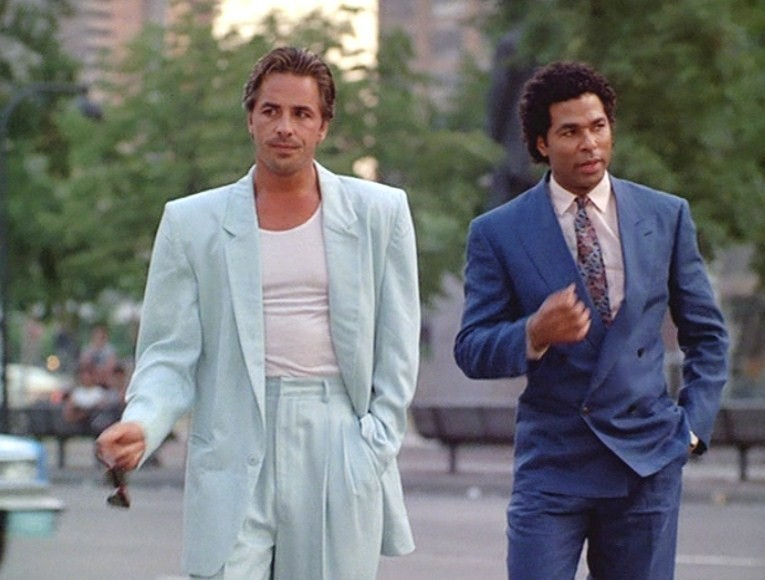 The use of colour in  Miami Vice  is a distinct alchemical code.