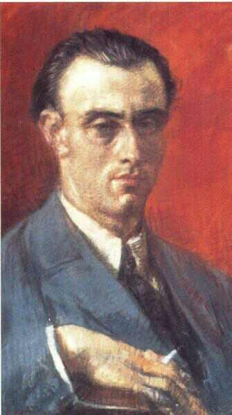 O. W. de Lubicz Milozs (1877-1939). Poet, noble, and diplomat, in 1919 Milosz bequeathed the chivalric title « de Lubicz » to René Schwaller, officially adopting him into his clan. Image source: www.archerjulienchampagne.com.