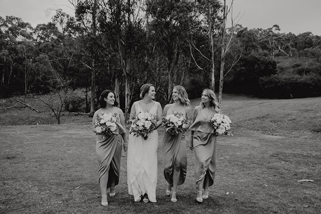 Have you ever seen a more beautiful bridal party?! ⁠ .⁠ .⁠ #Jessicaprince #jessicaprincephotography #modernwedding #realwedding #hellomay #whitemagazine #realcouple #bride #weddingdress #weddingday #postmoreportraits #vscofilm #vsco #love #bestofweddings #bridalshoot #morningtonpeninsulaphotographer #purehappiness #smile #bridalphotos #brideandgroom #bridemakeup  #toastweddings #epicwedding #beautifulbride #bramleighestatewedding #bramleighestate #yarravalleyweddings #yarravalley #yarravalleyweddingphotographer ⁠
