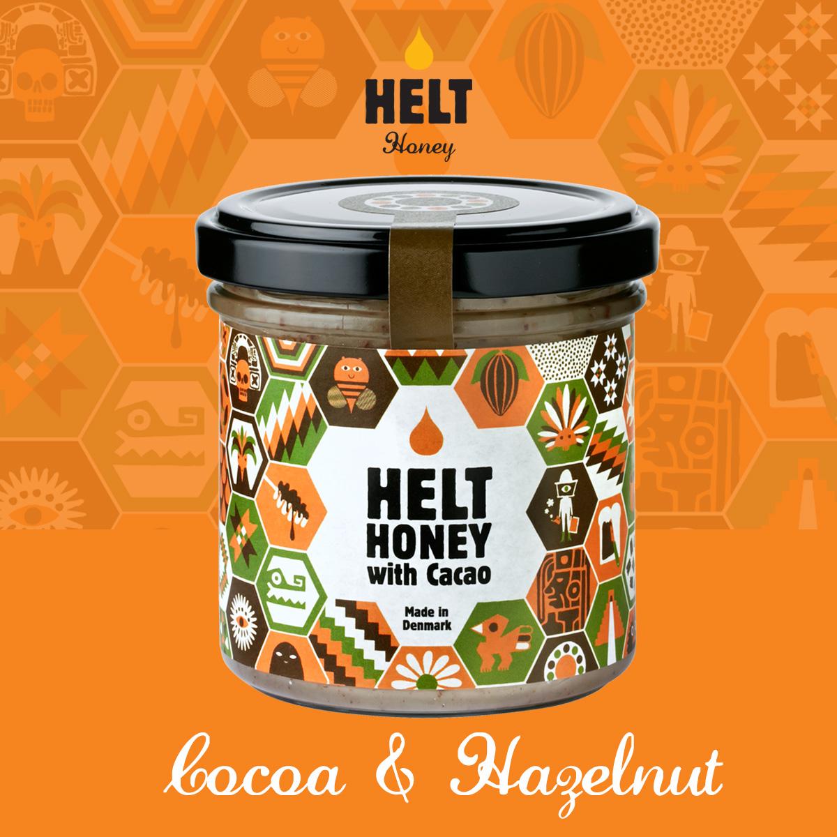 HELT honey - Cocoa & Hazelnut