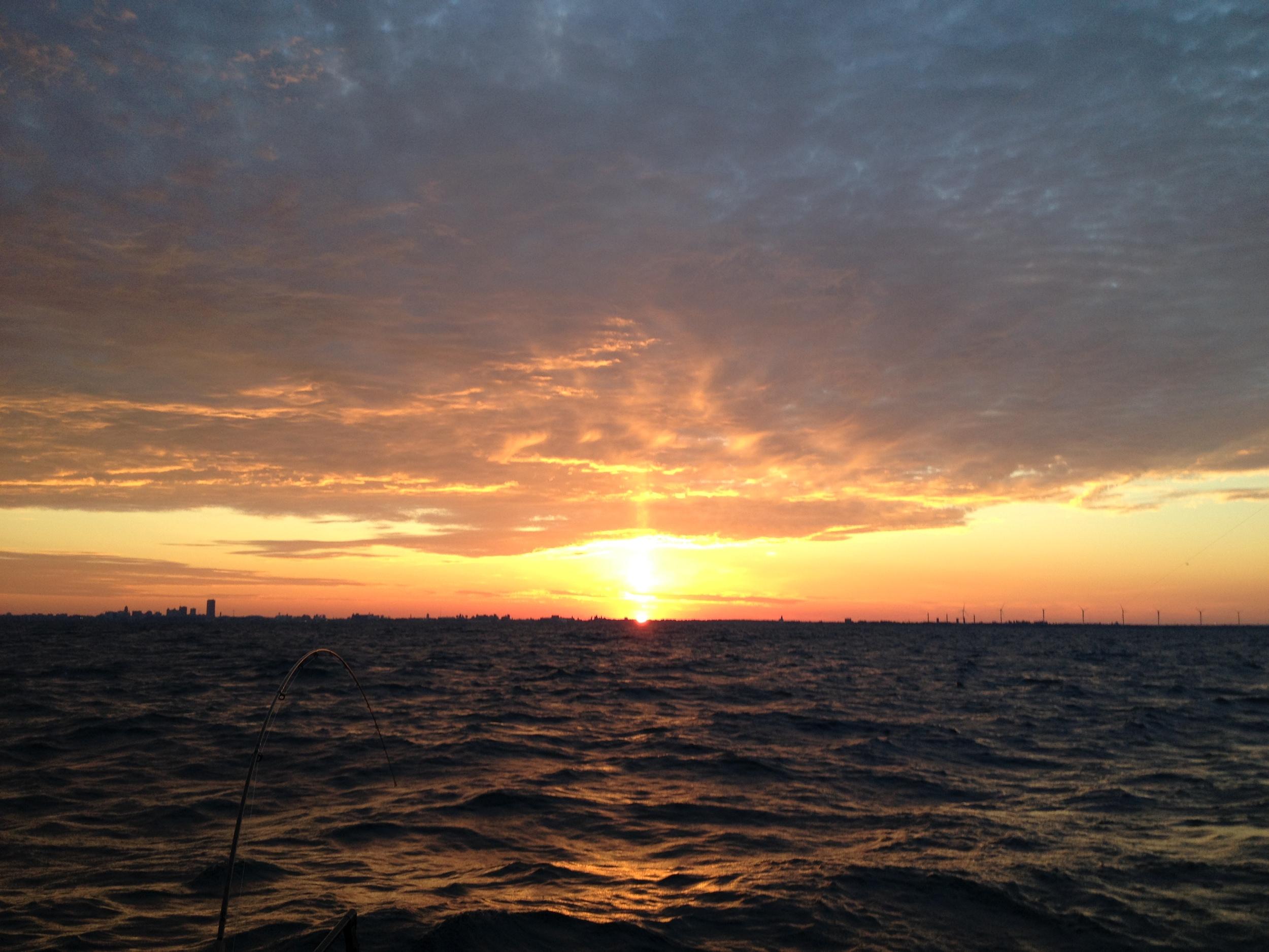 Sunrise over Buffalo - (c) 2014 Steel Leader Guide Services, LLC