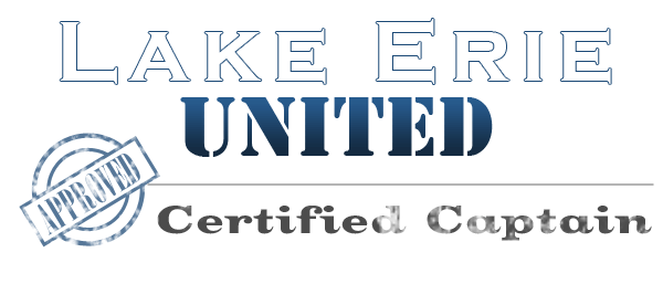 Lake Erie United - Certfied Captain  Member of the Eastern Lake Erie Charterboat Association
