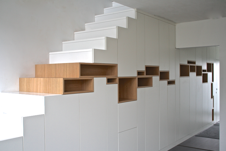 STAIRCASE CABINETS 2013 © FILIP JANSSENS, ALL RIGHTS RESERVED