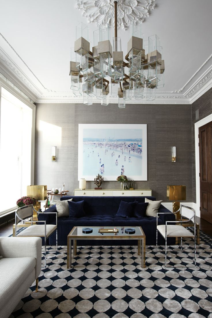 Peter Mikic and Sebastian Scott's London home. Design by Mikic.