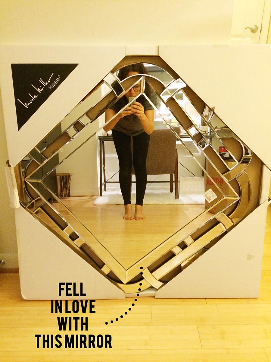 Nicolle Miller wall mirror - HomeGoods