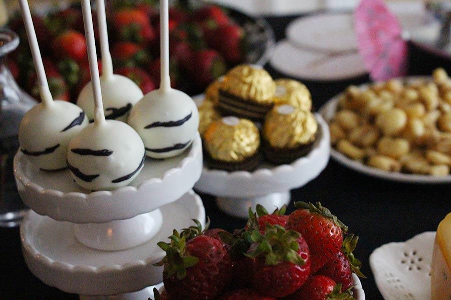 Zebra themed! Best cakepopever from  Baked by Yael