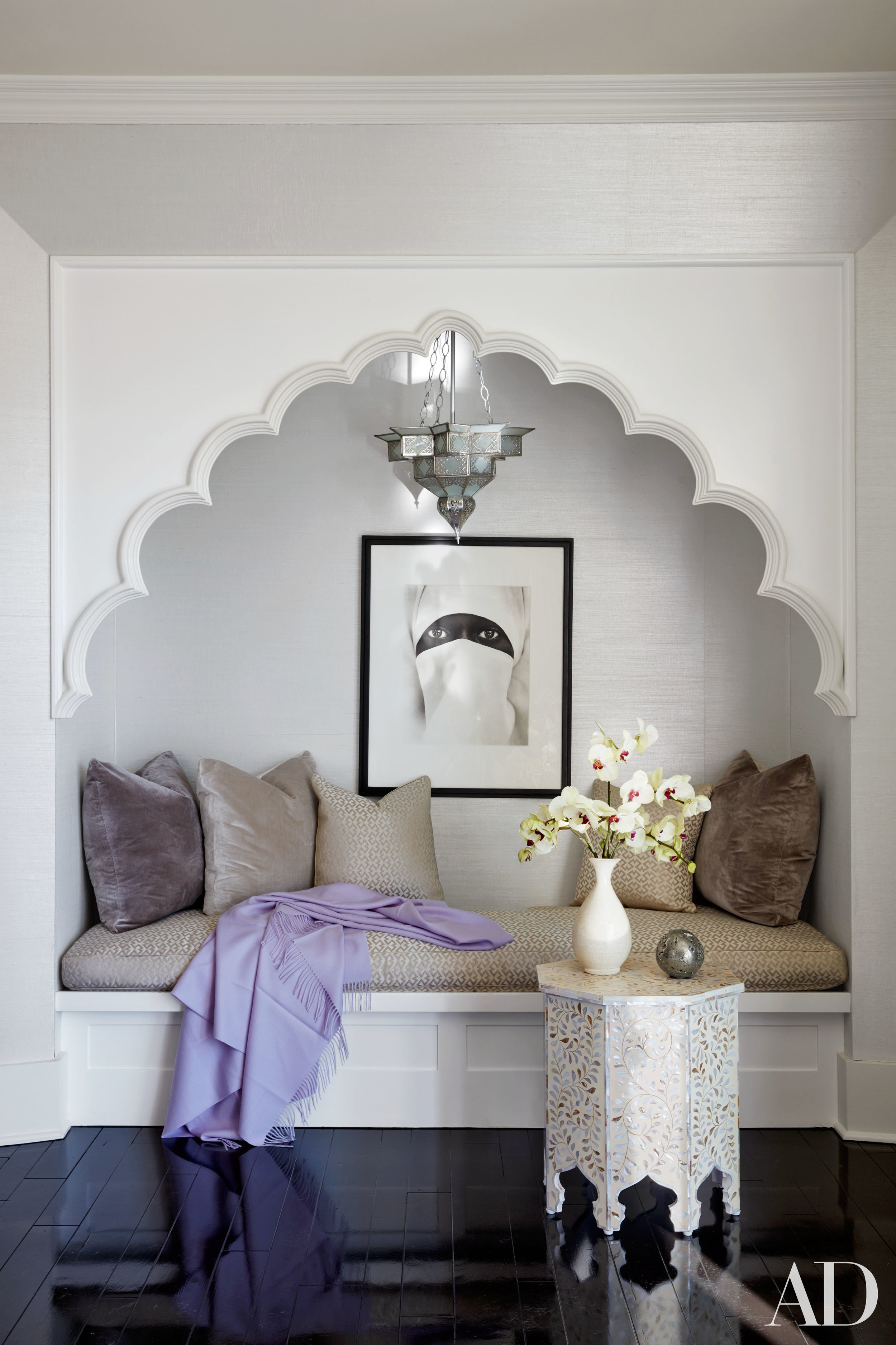 All pictures from  Architectural Digest