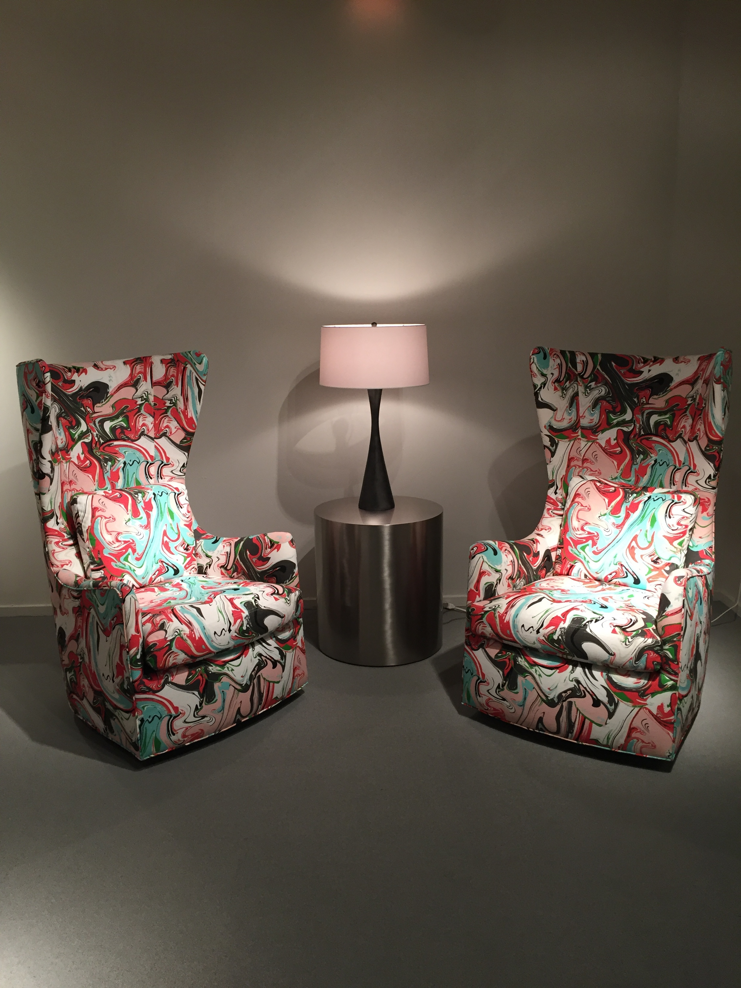 My favorite pair of chairs by  Thayer Coggin Such a timeless statement piece, and carefully manufactured to perfection.