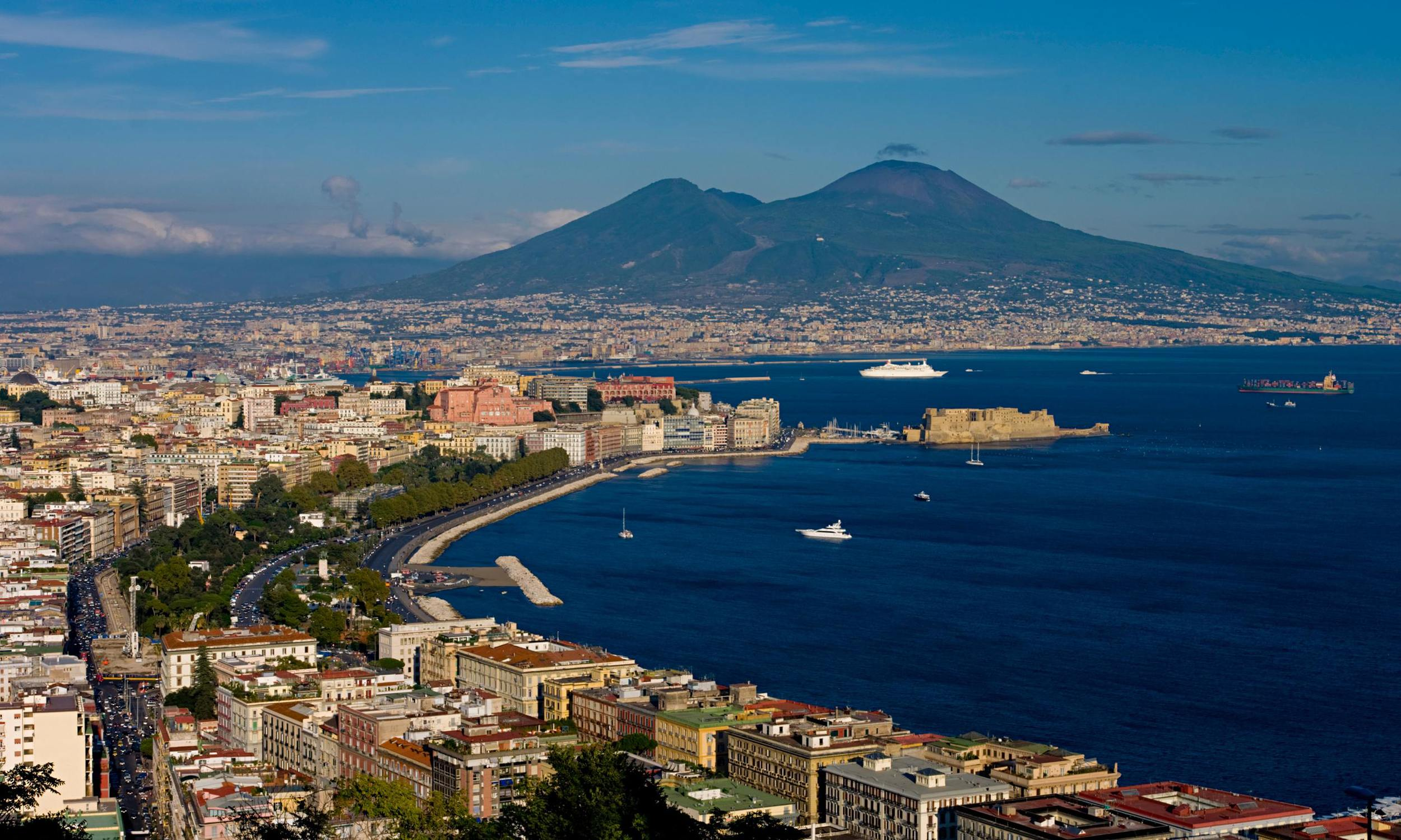 NAPLES   Naples is the biggest city in Southern Italy and it is the capital in the region of Campania. The population of the city is about 1 million. The city is not far away from the volcano Vesuvius. Naples is an amazing city and it offers many great things.