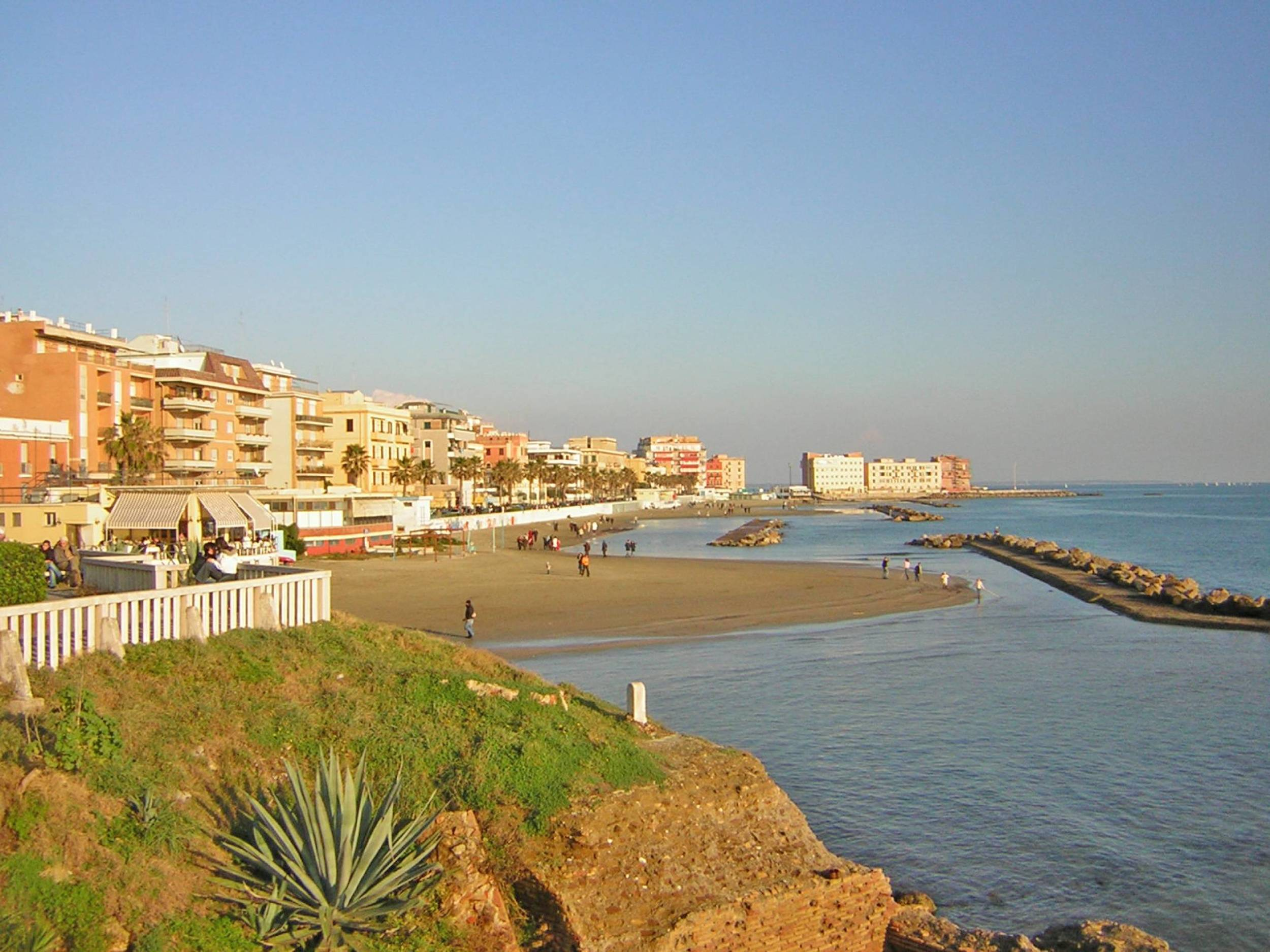 ANZIO BEACH   Anzio is a bigger city with some beach opportunities. Go to Anzio if it is not just about beaches, but also about a small city tour with shopping and café visits.