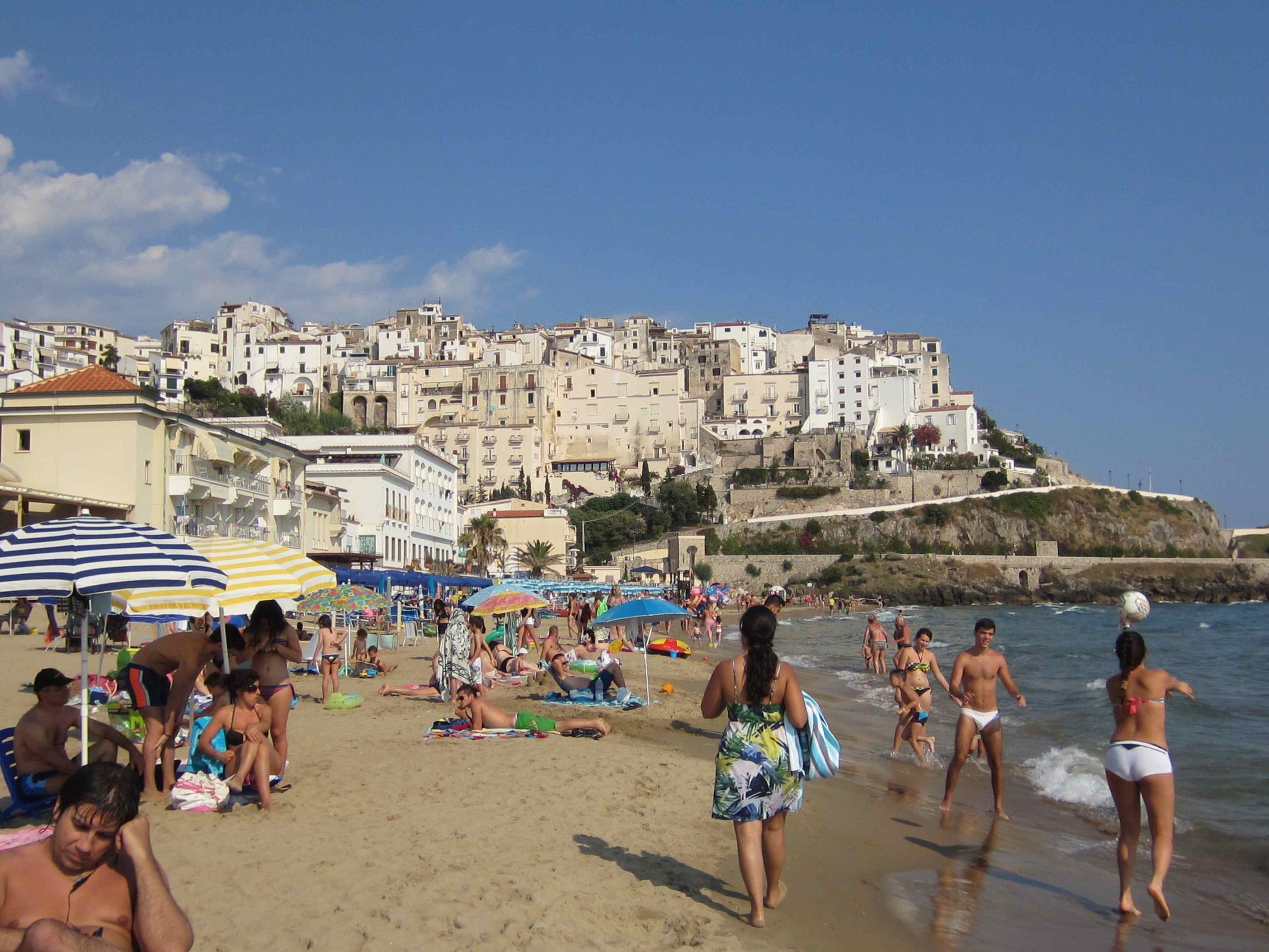 SPERLONGA BEACH   Sperlonga is one of Italy's finest beaches.