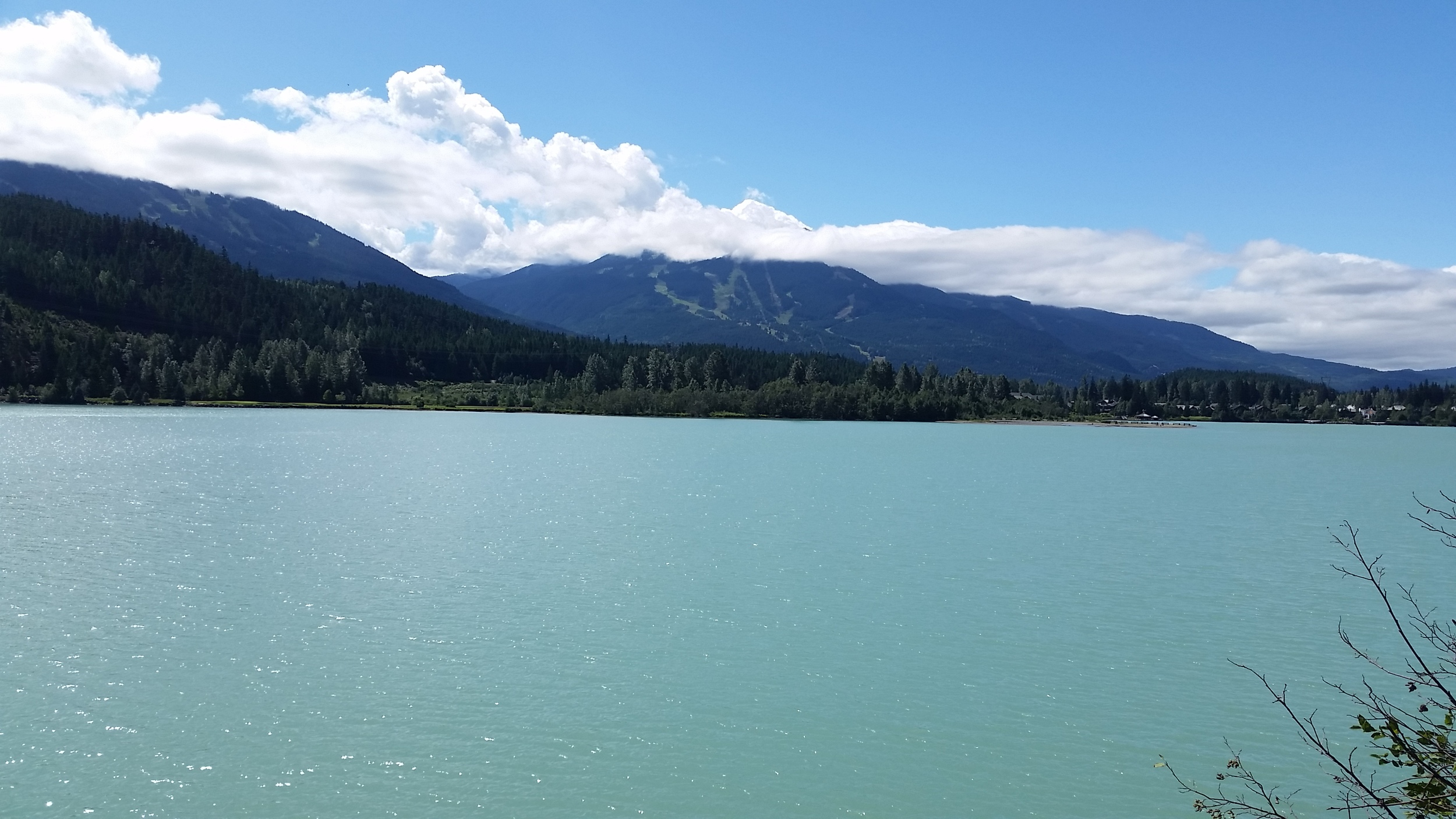 Green Lake near the run turnaround.