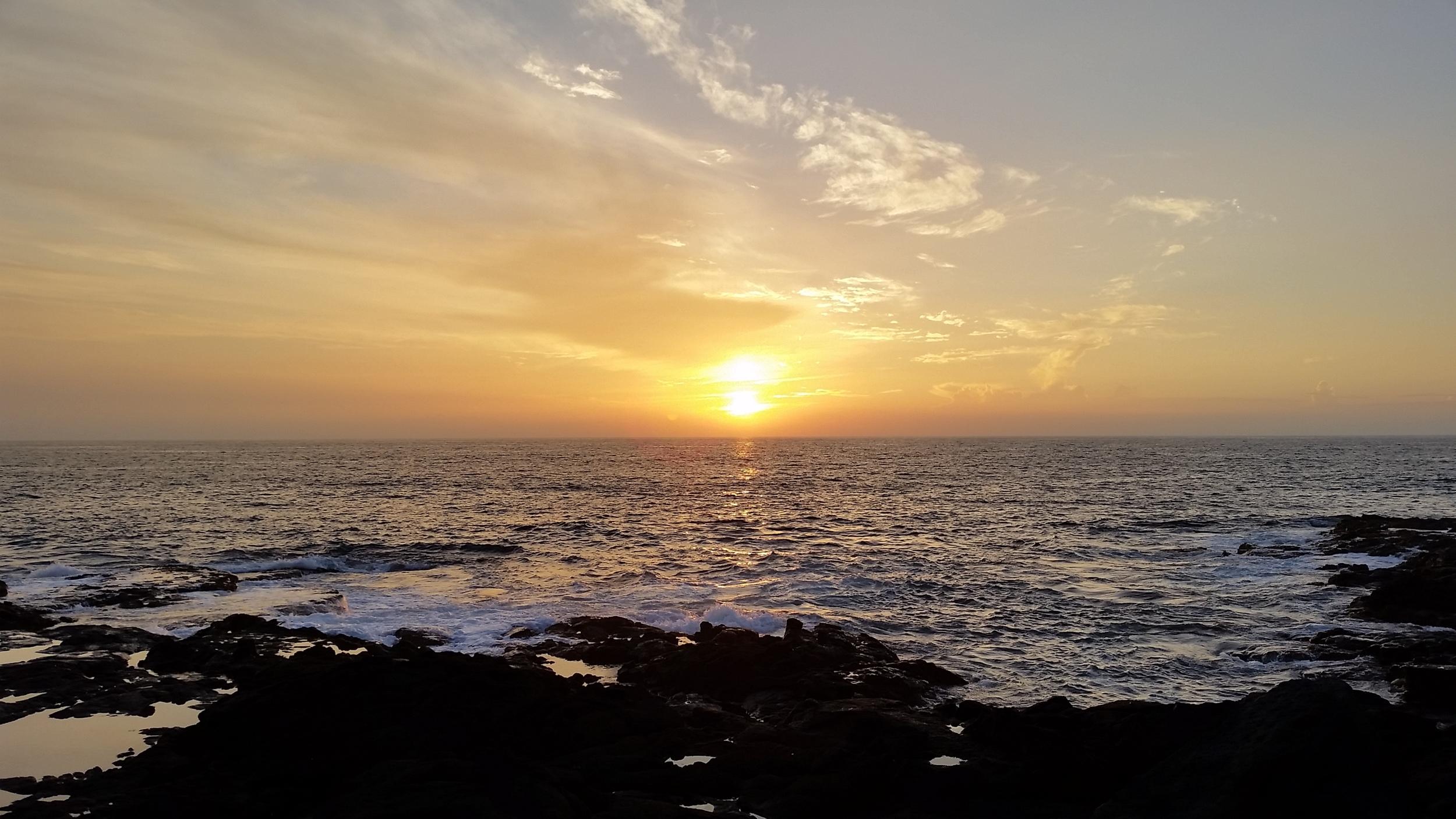 Another Brooke sunset shot.
