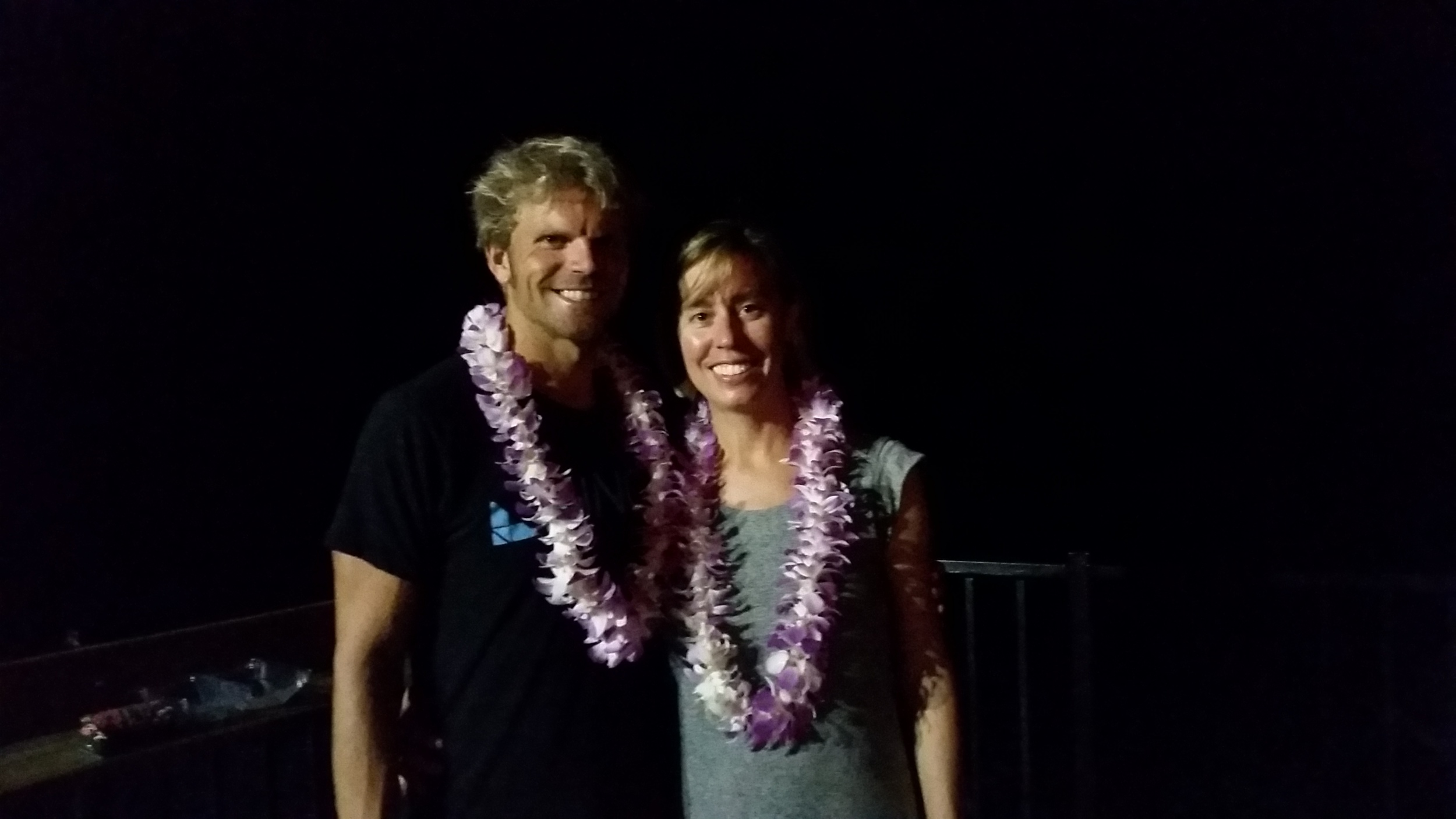 Brooke and I got married on a beach north of Kona in 2010. Our anniversary fell on Monday after the race and we were fortunate to celebrate our 5th anniversary on the island.