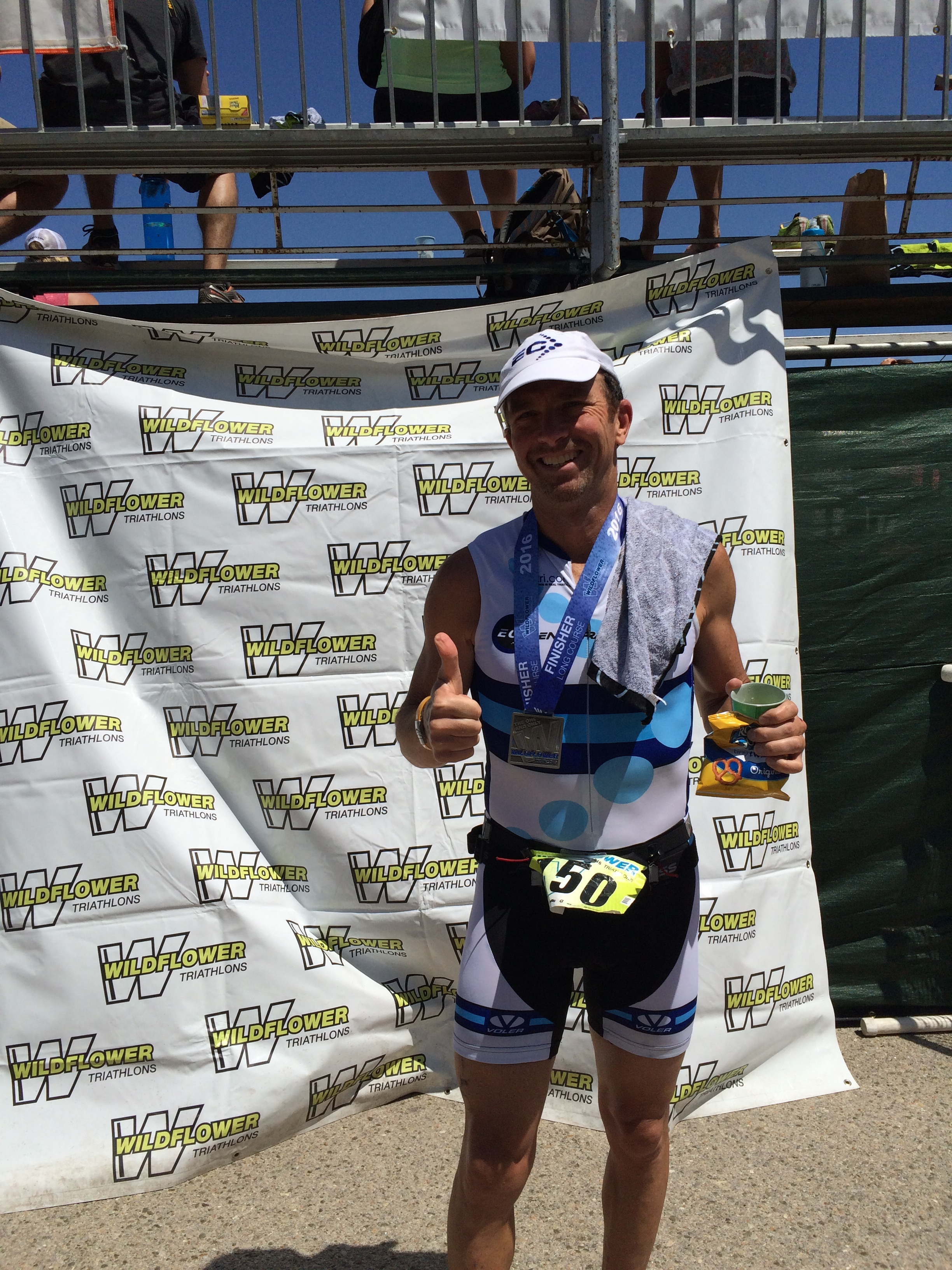 Petro came through 2nd in his age group off of <10 miles of run training per week as bike racing has been his main gig this year.