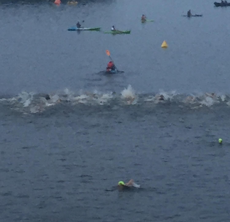 MPRO swim start.