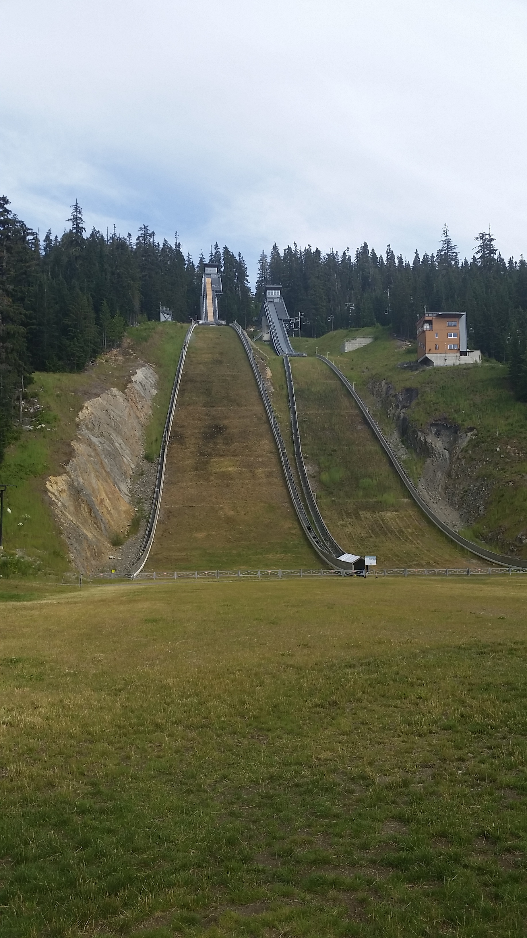 Ski jumping venue from the 2010 Olympics.