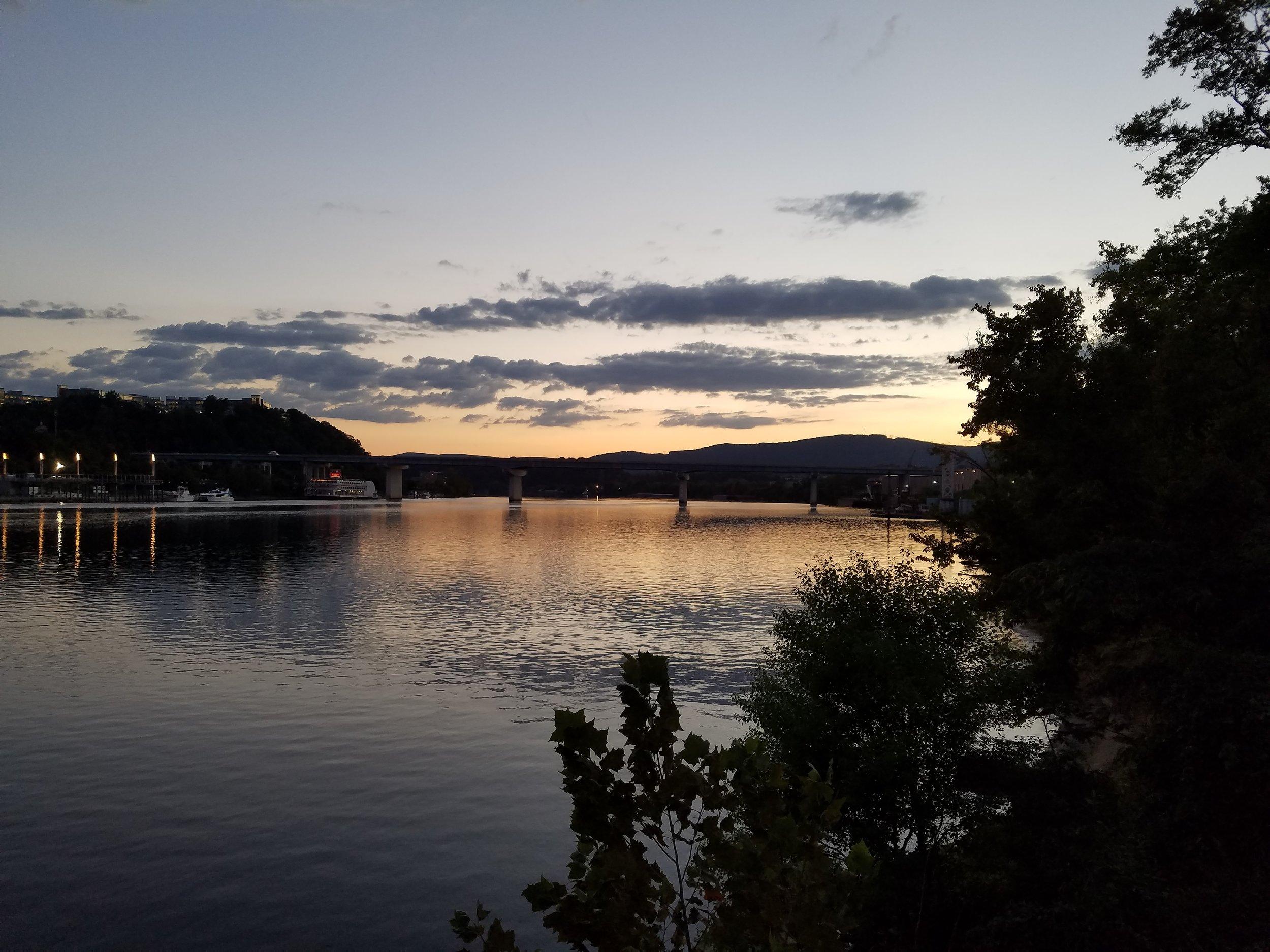 Chatty Sunset