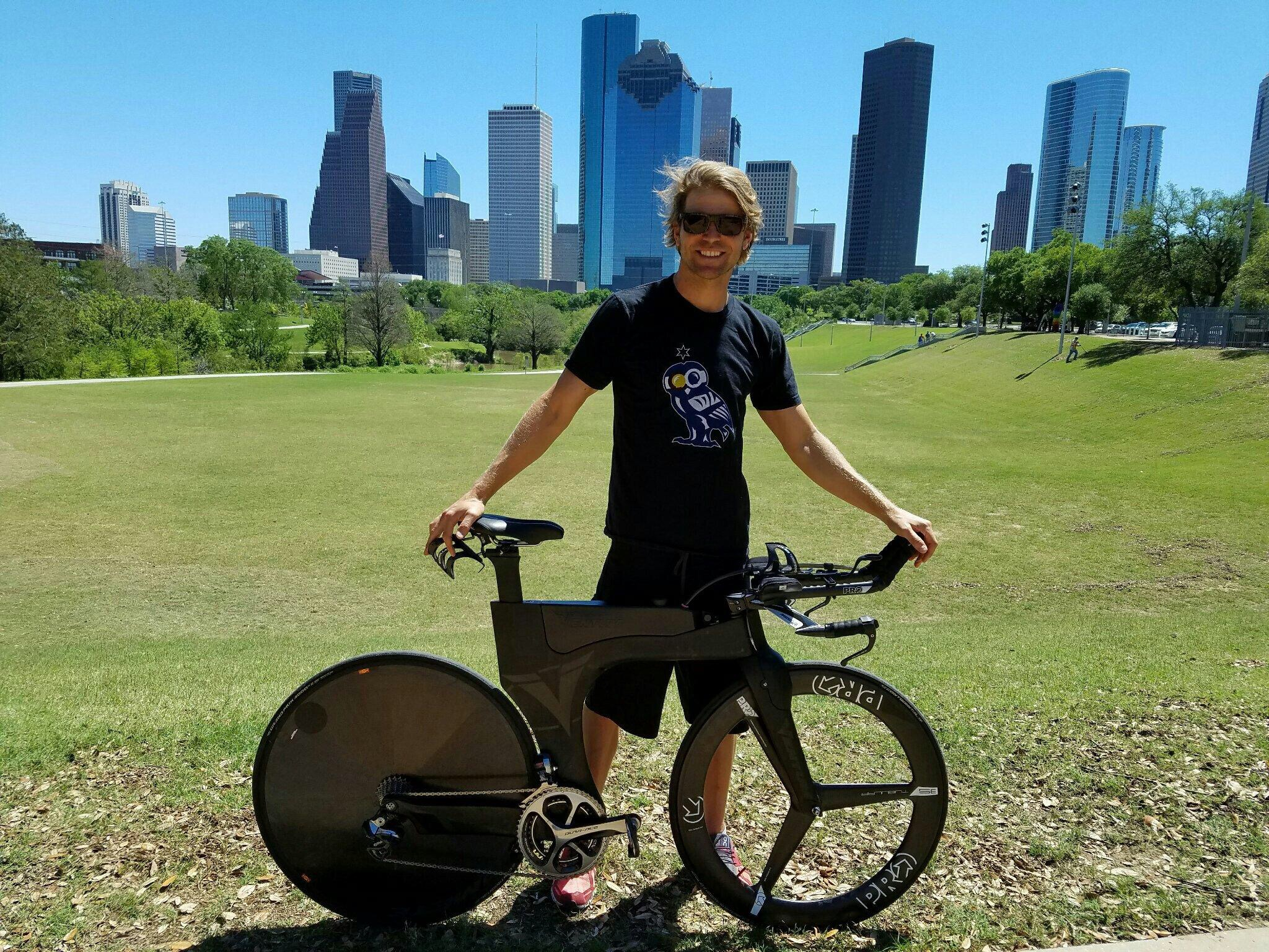 Shot some photos in hometown of Houston prior to racing Galveston.