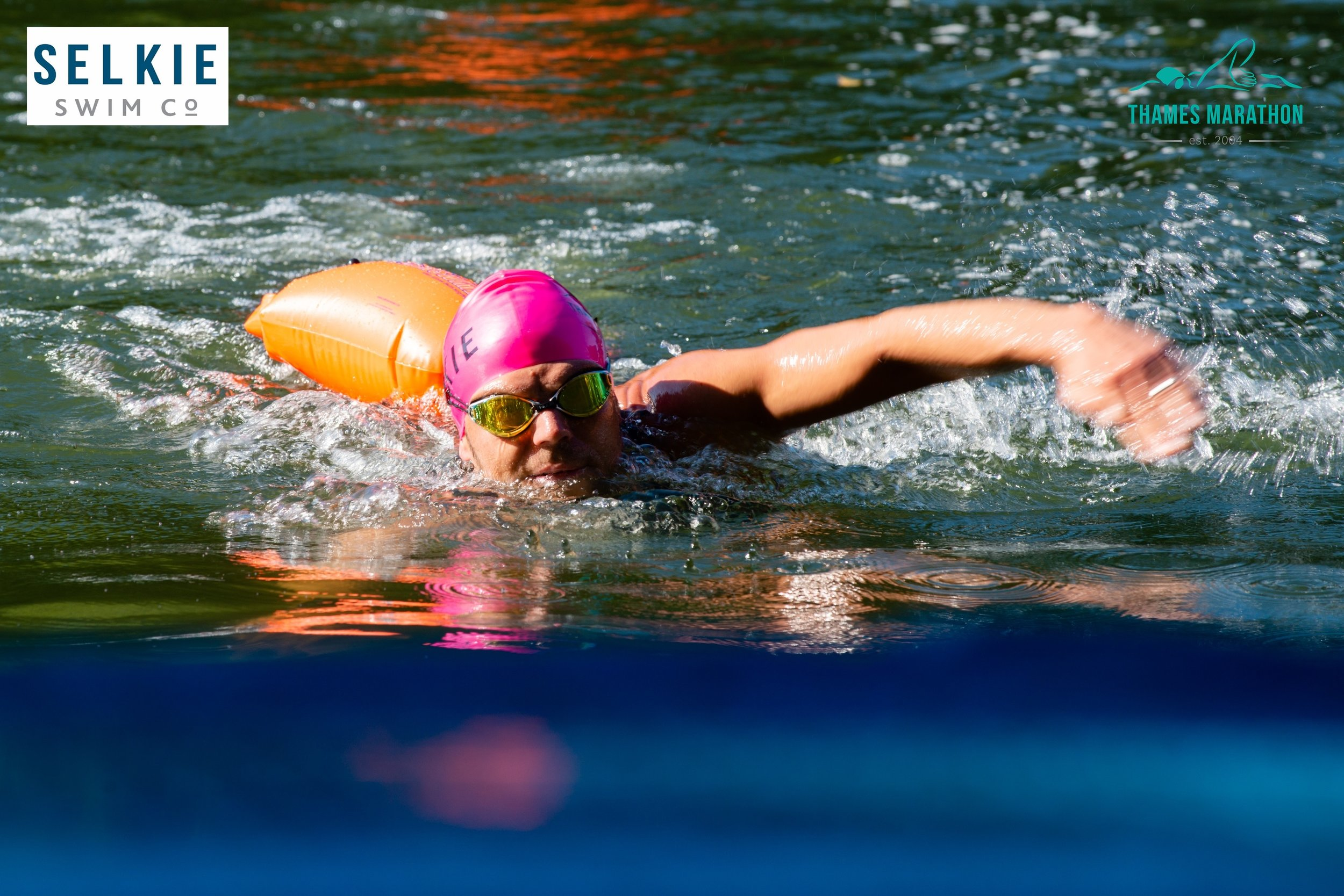 A shot of me at the end of the 6K leg of the swim; approximately 10K in the race.