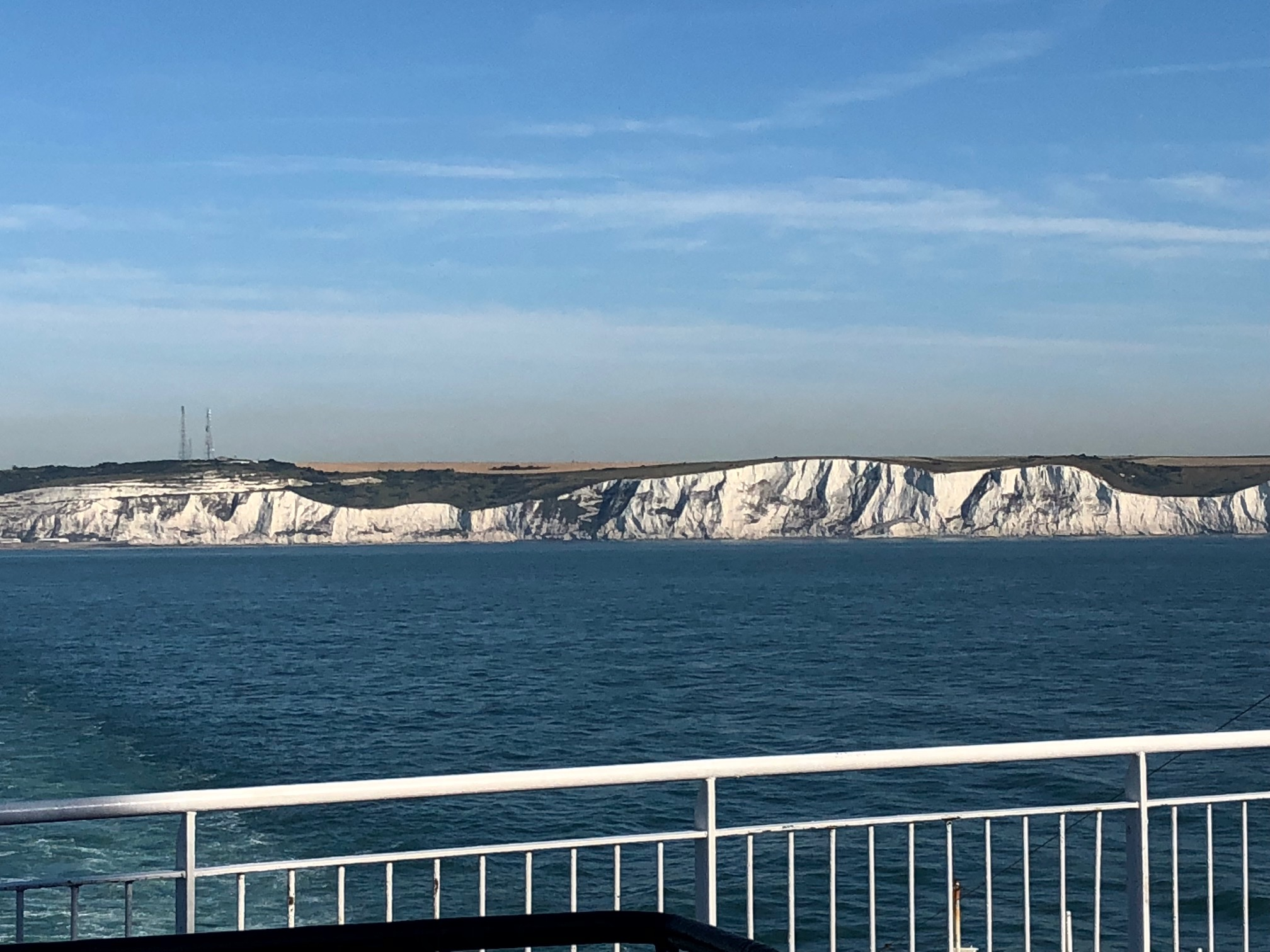 The famous Cliffs of Dover. Dover, England.