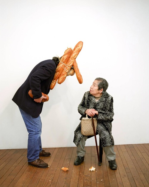 Tatsumi Orimoto, Bread Man Son and Alzheimer Mama, Tokyo, 1996.