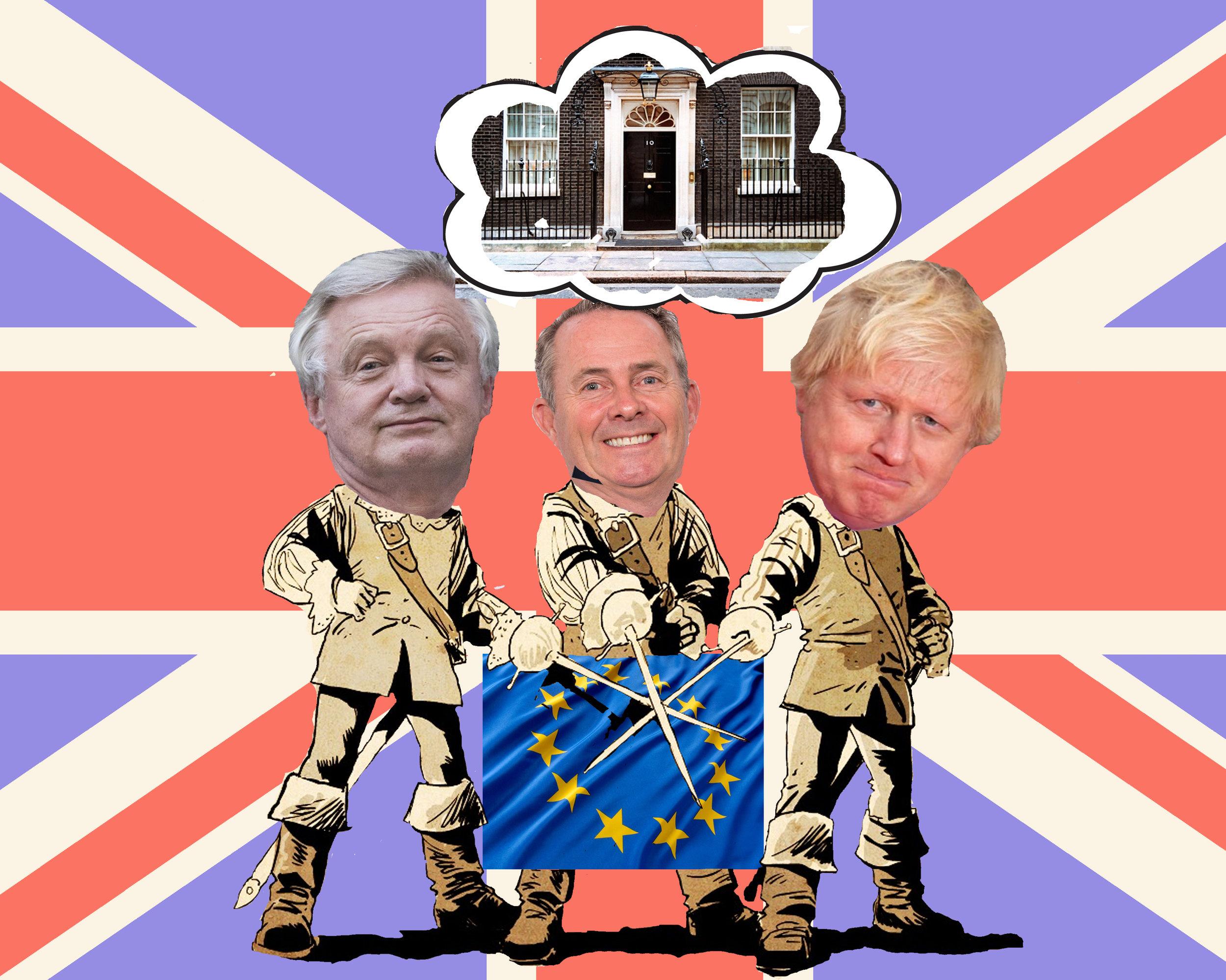 The Three Brexiteers